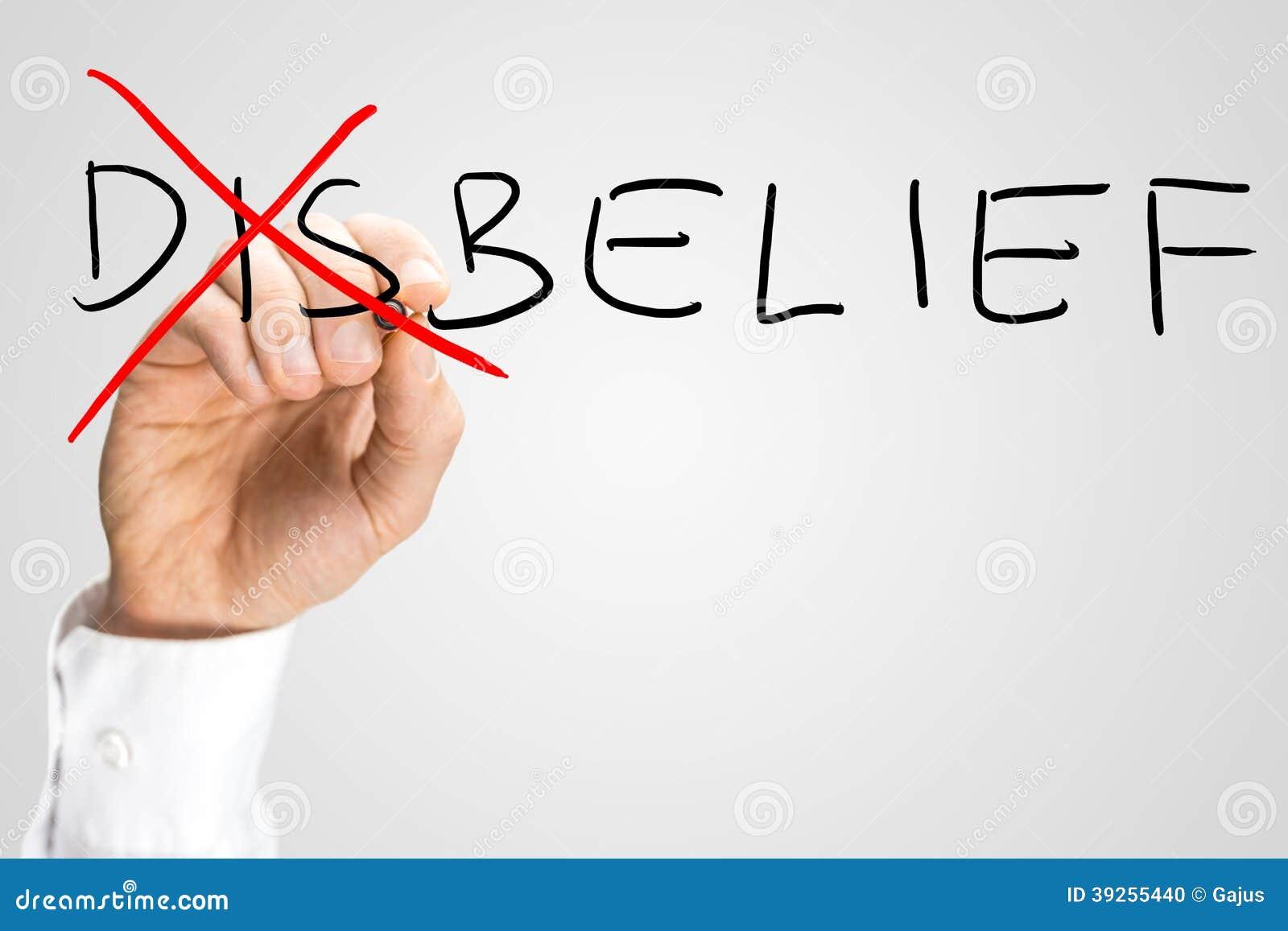 Δυσπιστία - πεποίθηση, μια έννοια των αντιθέτων