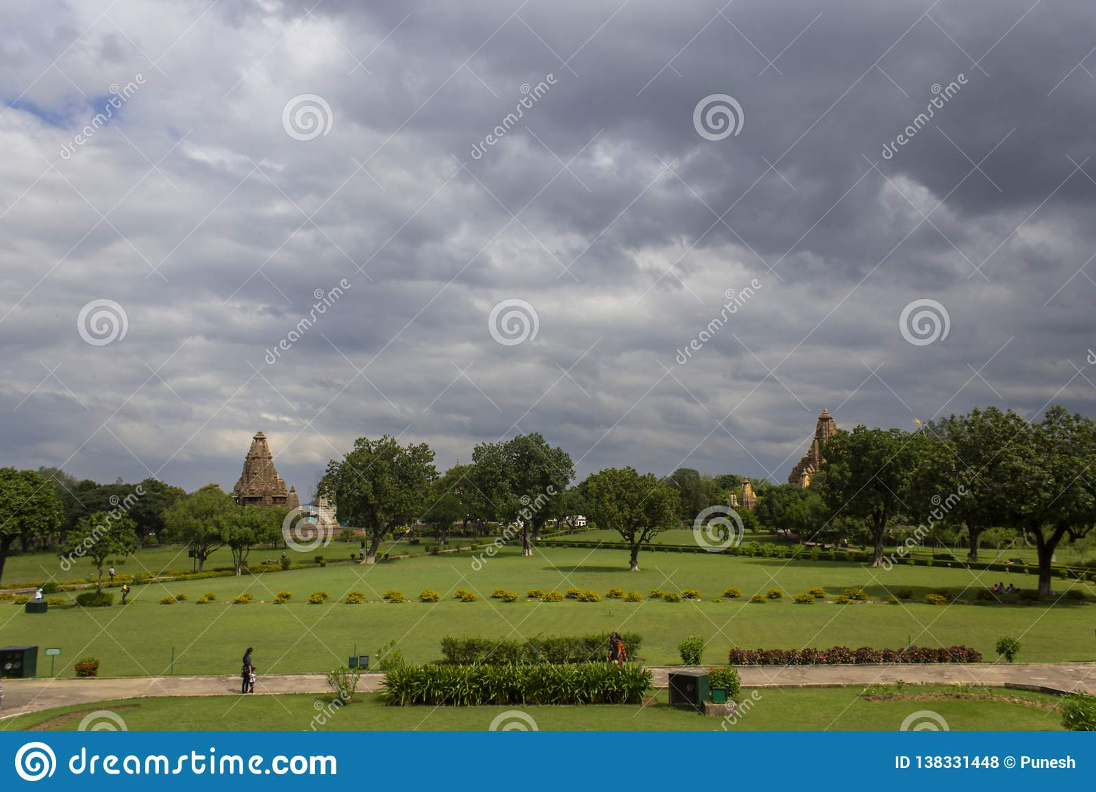 Δυτική ομάδα ναών, Khajuraho, Madhya Pradesh, Ινδία