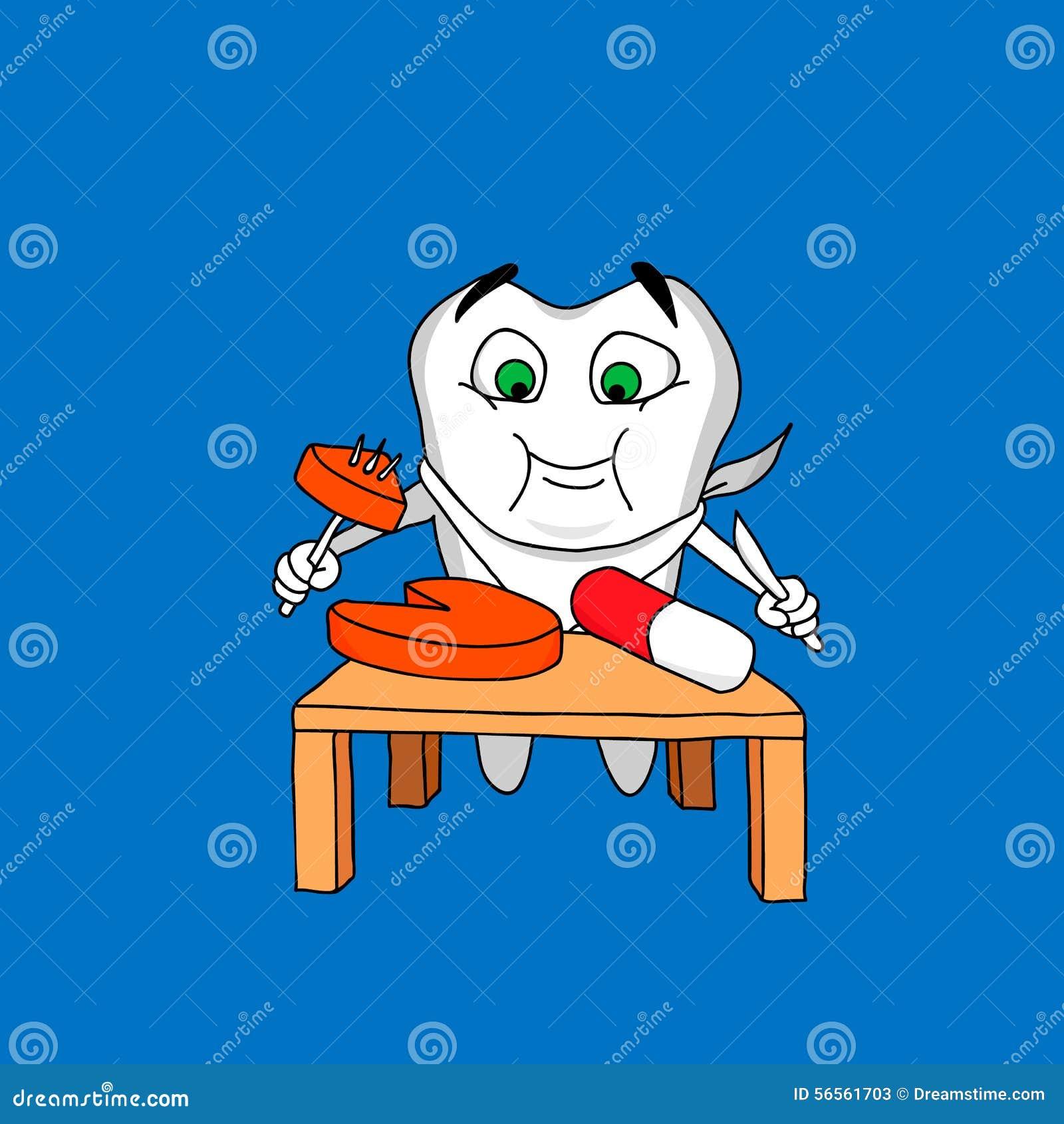 Download Δόντι και φάρμακα διανυσματική απεικόνιση. εικονογραφία από ταμπλέτες - 56561703