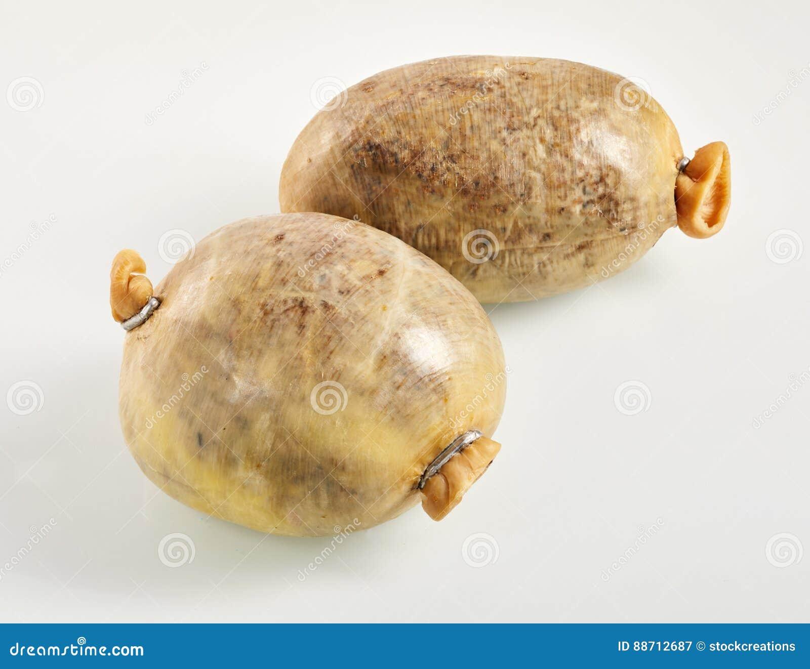 Δύο μικρά σκωτσέζικα haggis