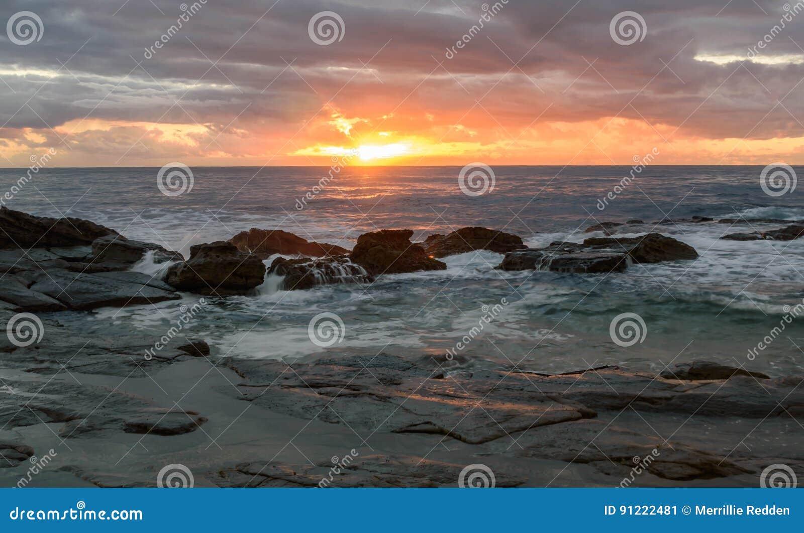 Δύσκολο Seascape ανατολής