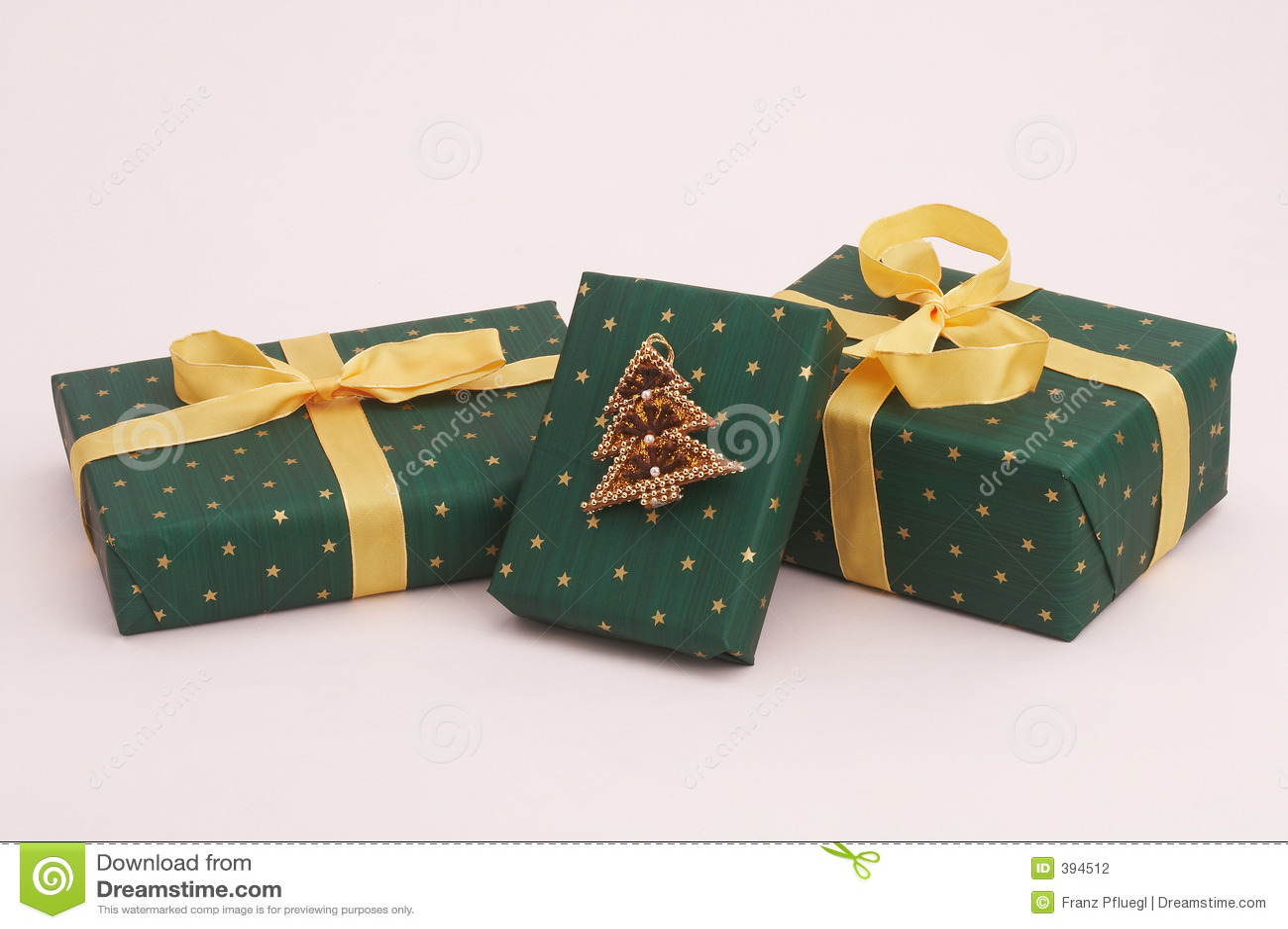 δώρα Χριστουγέννων πράσινα