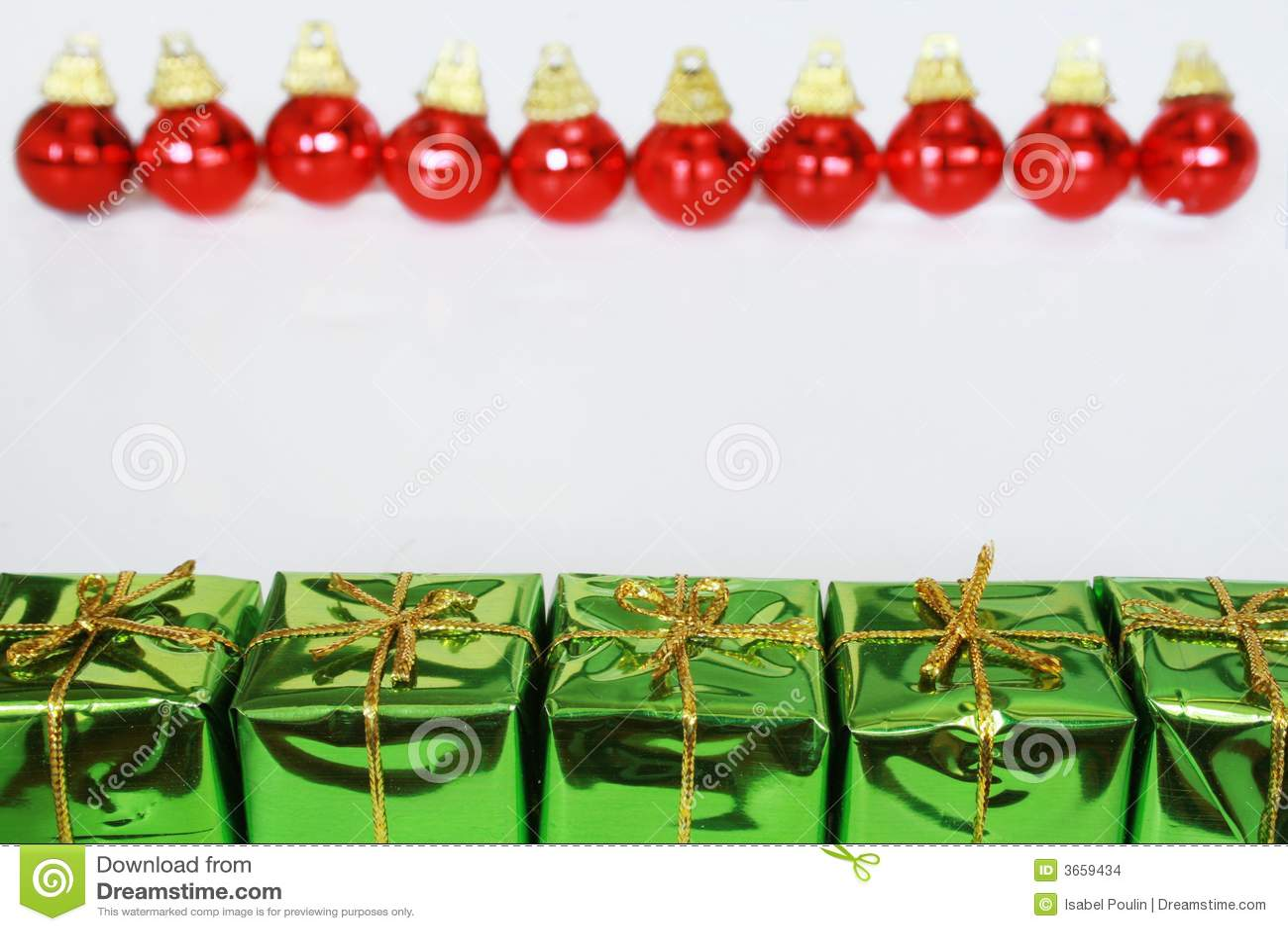 δώρα Χριστουγέννων σφαιρών