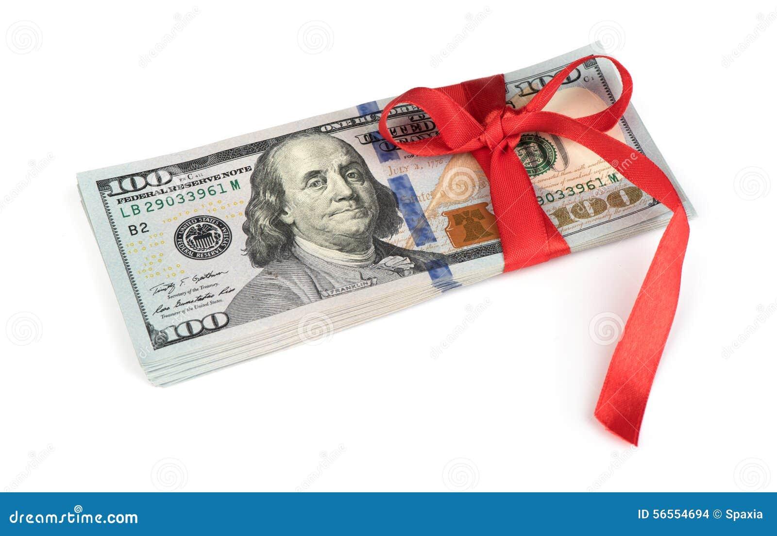 Download Δώρο χρημάτων στοκ εικόνες. εικόνα από επιχείρηση, λογαριασμών - 56554694