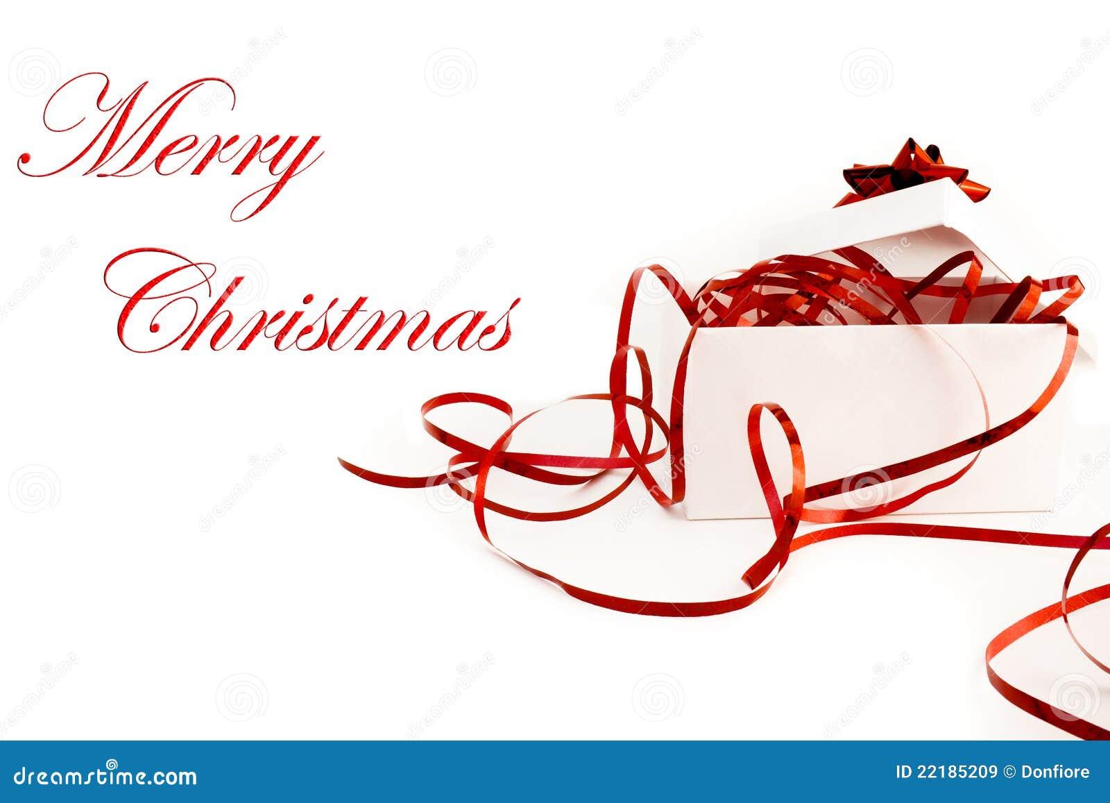 Δώρο Χριστουγέννων με την κορδέλλα και το τόξο