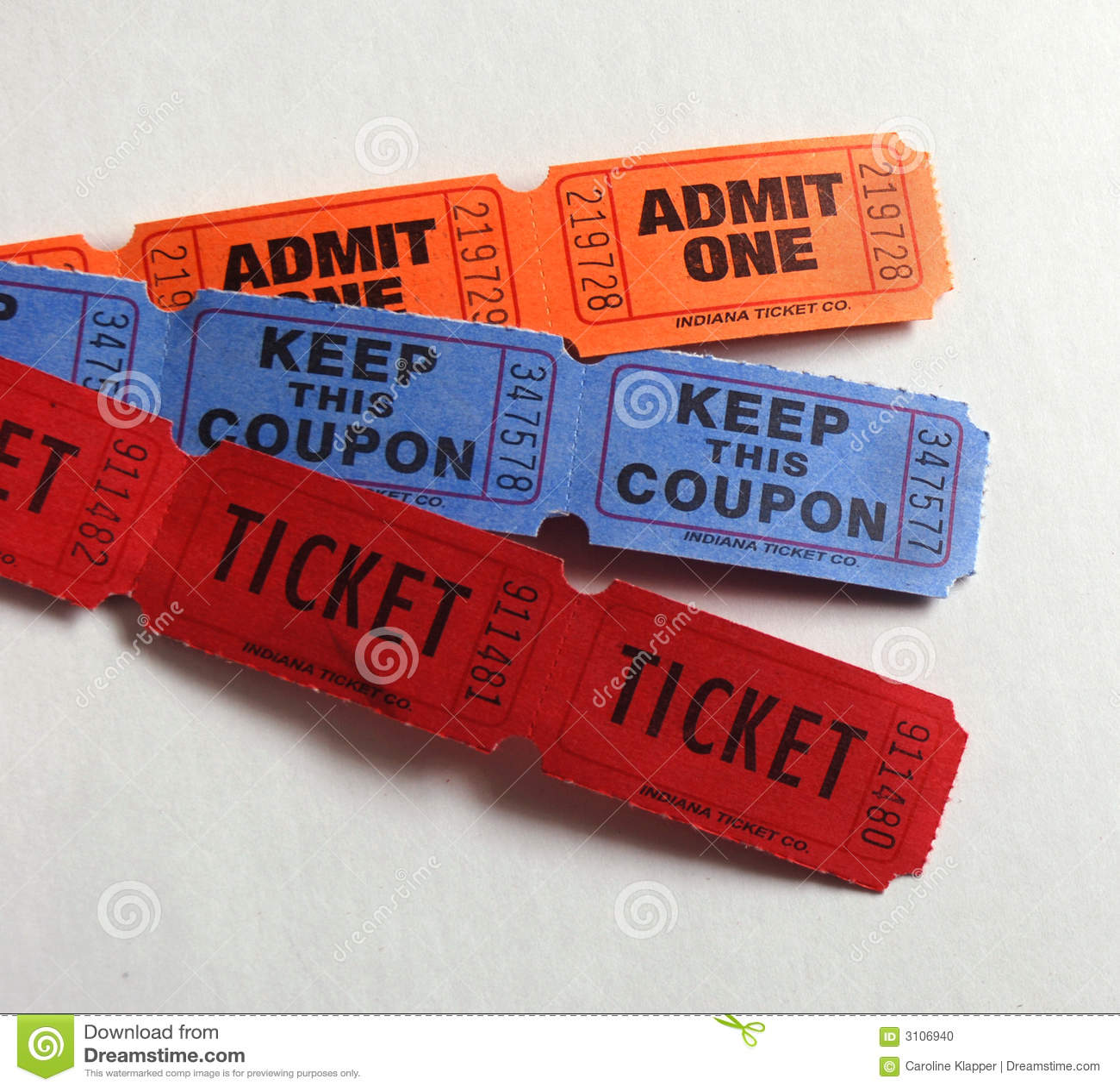 είδη τρία εισιτήρια