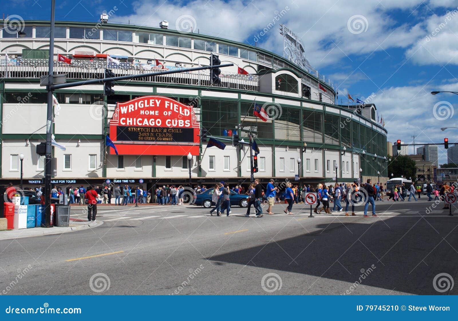 Είσοδος του τομέα των Chicago Cubs Wrigley