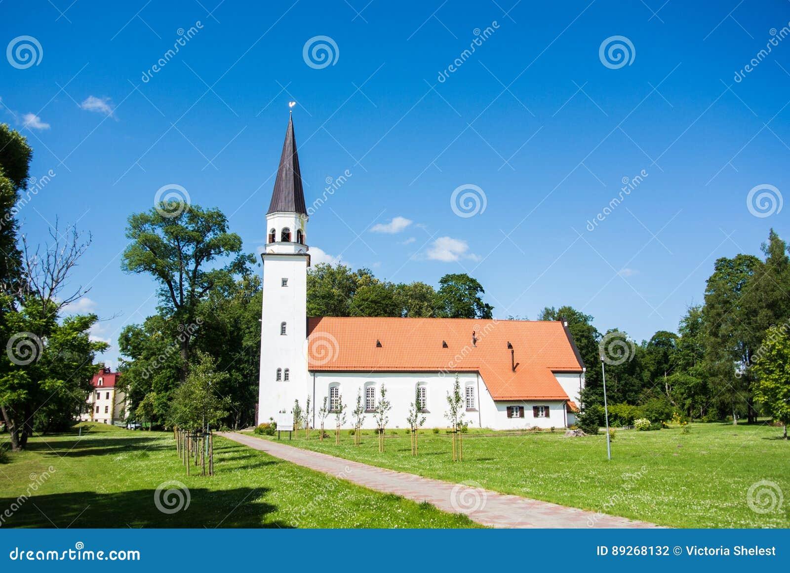 Εβαγγελική λουθηρανική εκκλησία Sigulda, μια εκκλησία της πόλης Sigulda