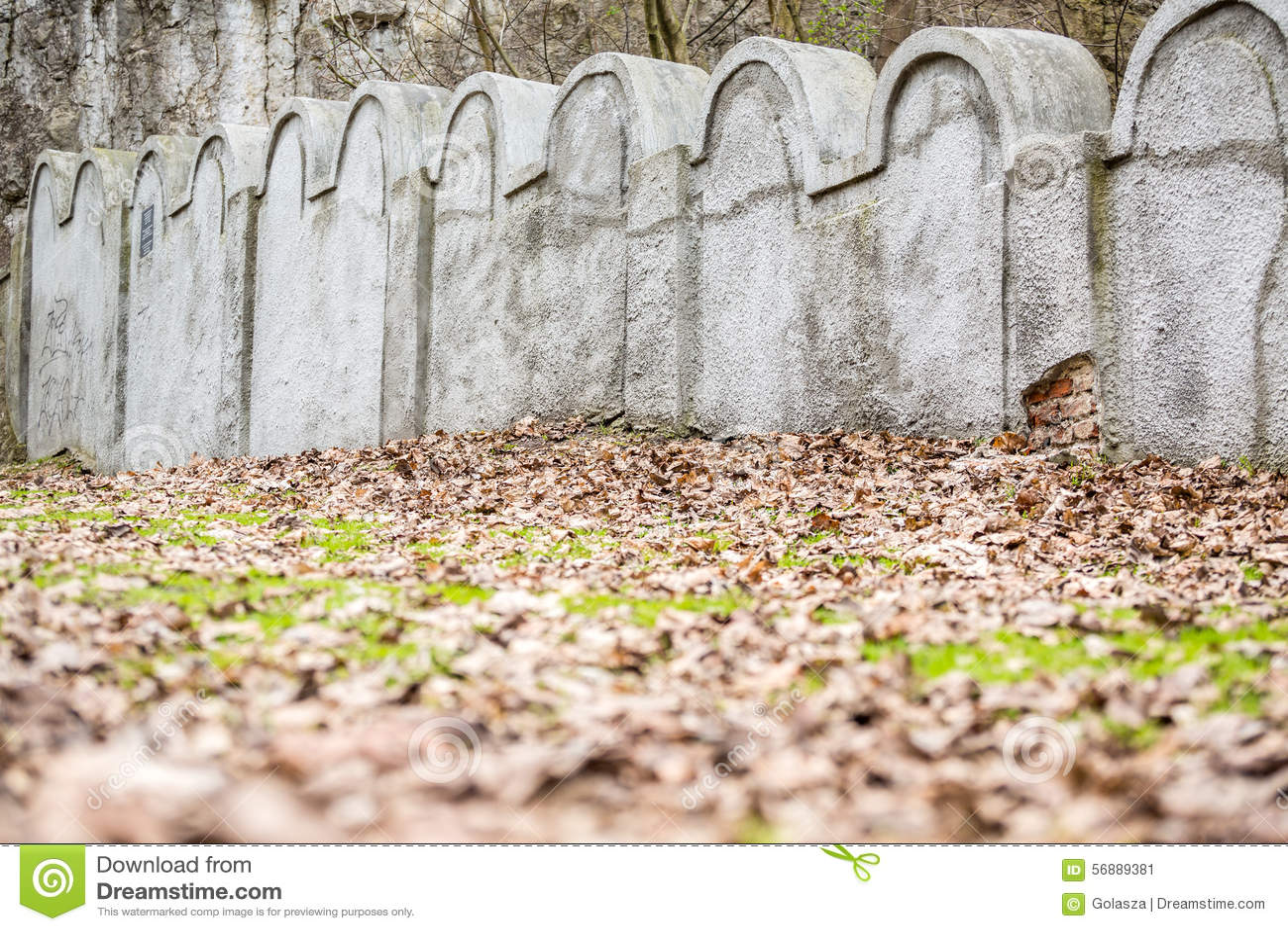 Εβραϊκός τοίχος γκέτο, Κρακοβία, Πολωνία