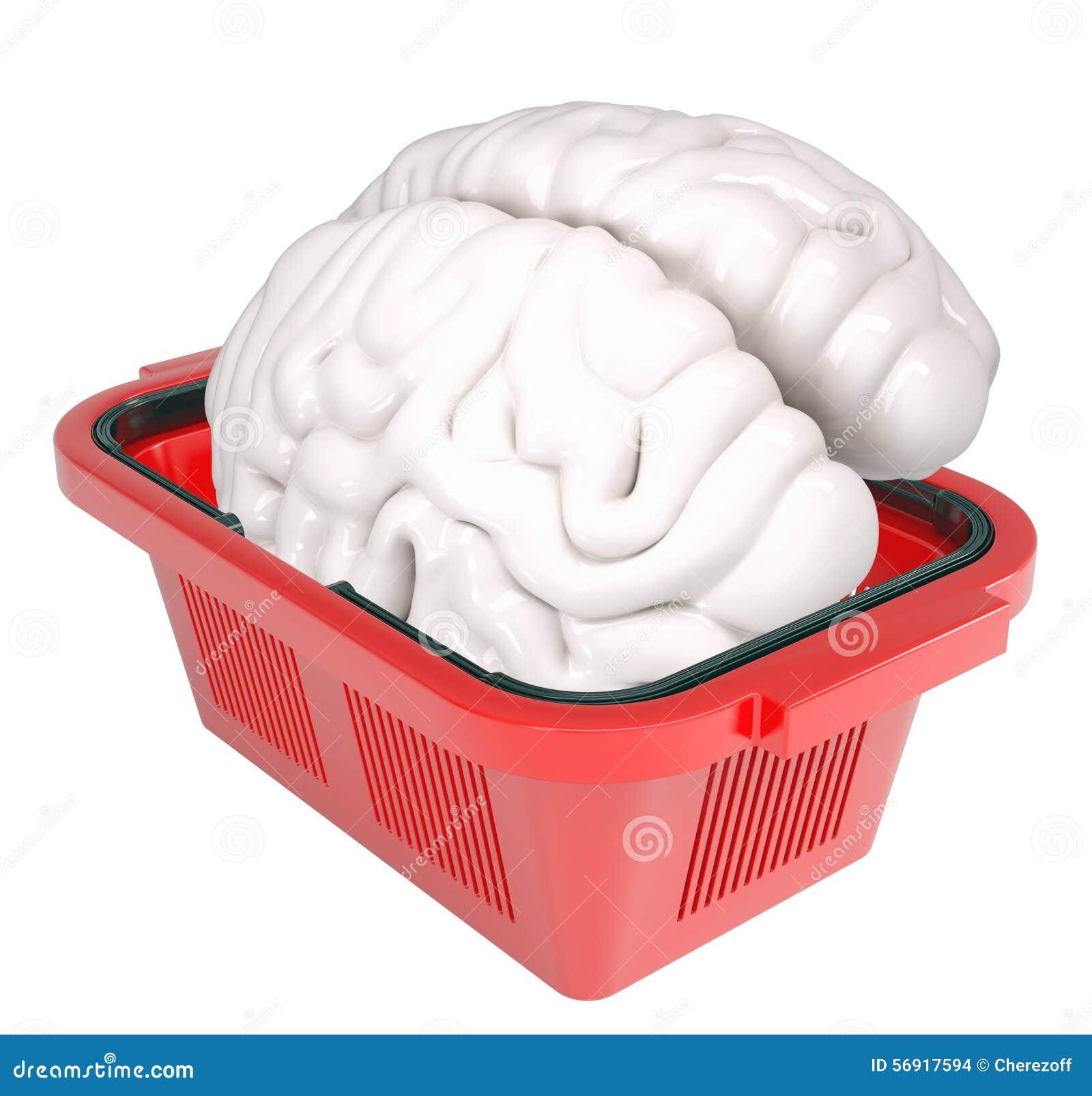 Εγκέφαλος στο καλάθι αγορών