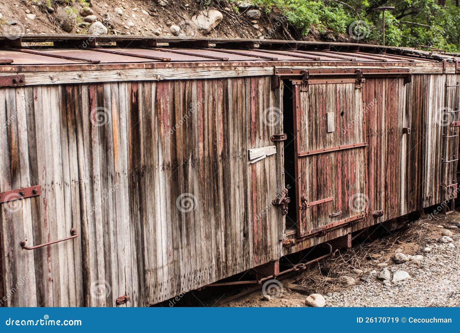 Εγκαταλειμμένο, ξεπερασμένο Boxcar