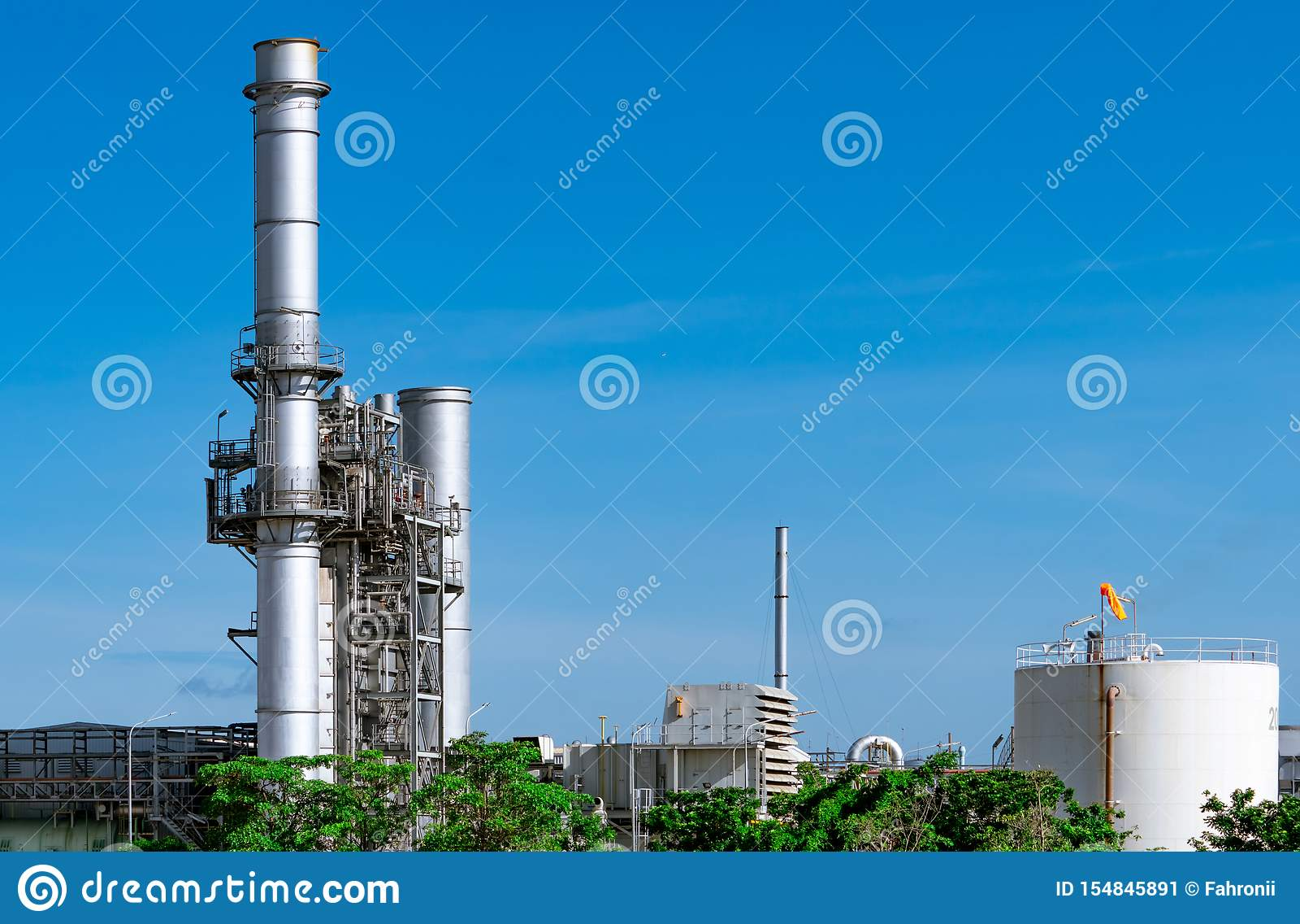 Εγκαταστάσεις ηλεκτρικής δύναμης στροβίλων αερίου Ενέργεια για το εργοστάσιο υποστήριξης στη βιομηχανική περιοχή Δεξαμενή φυσικού
