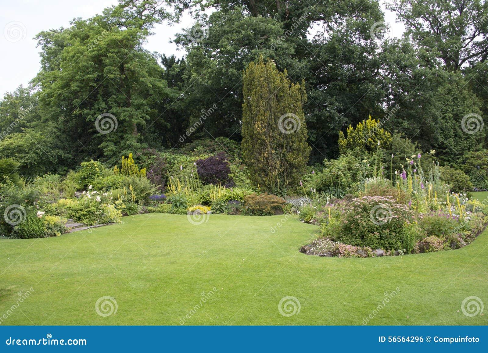 Download Εγκαταστάσεις και λουλούδια στον κήπο Στοκ Εικόνες - εικόνα από σύνθεση, κηπουρική: 56564296