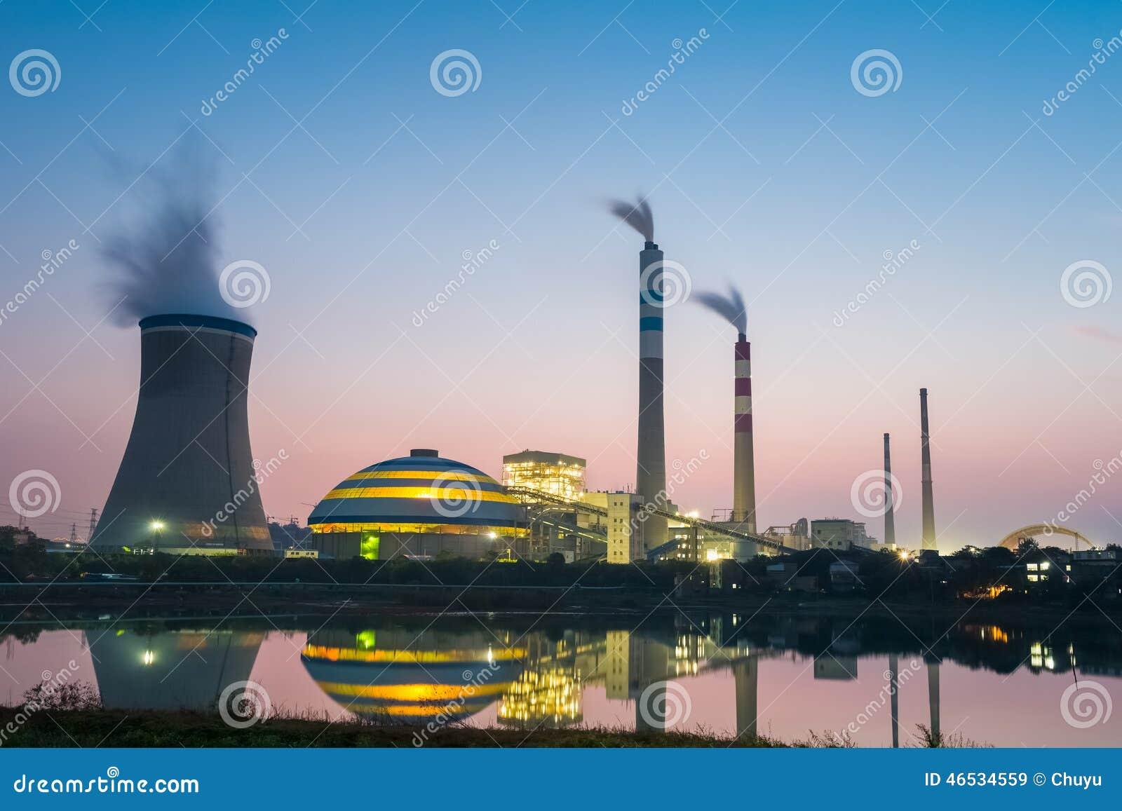 Εγκαταστάσεις παραγωγής ενέργειας άνθρακα στο σούρουπο