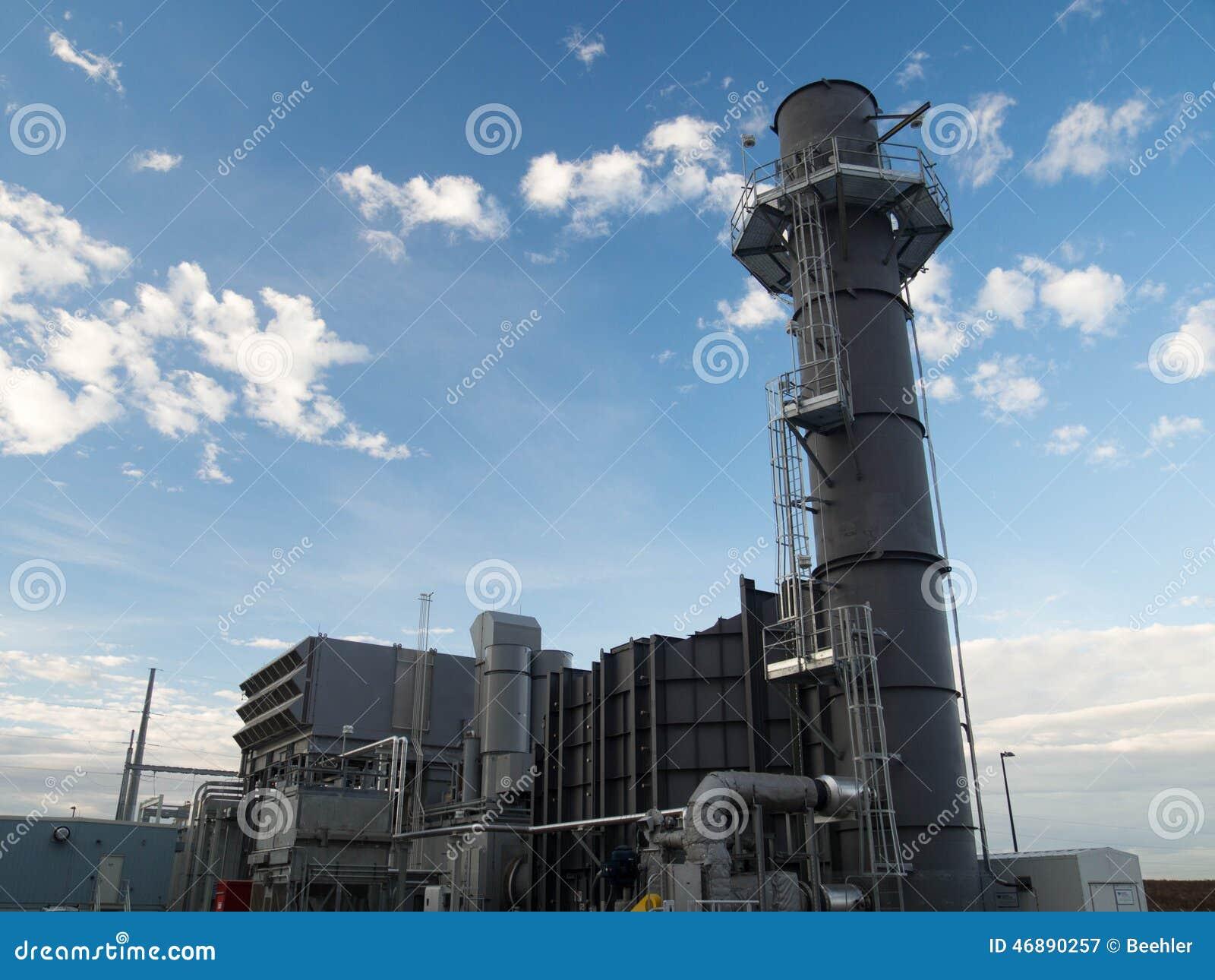 Εγκαταστάσεις παραγωγής ενέργειας στροβίλων αερίου