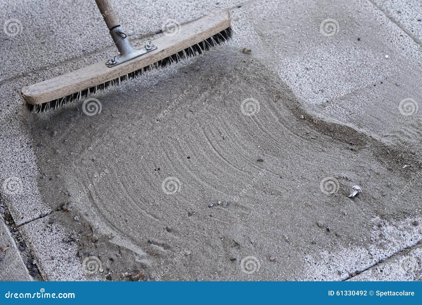 Εγκαταστήστε την πολυμερή άμμο με 3