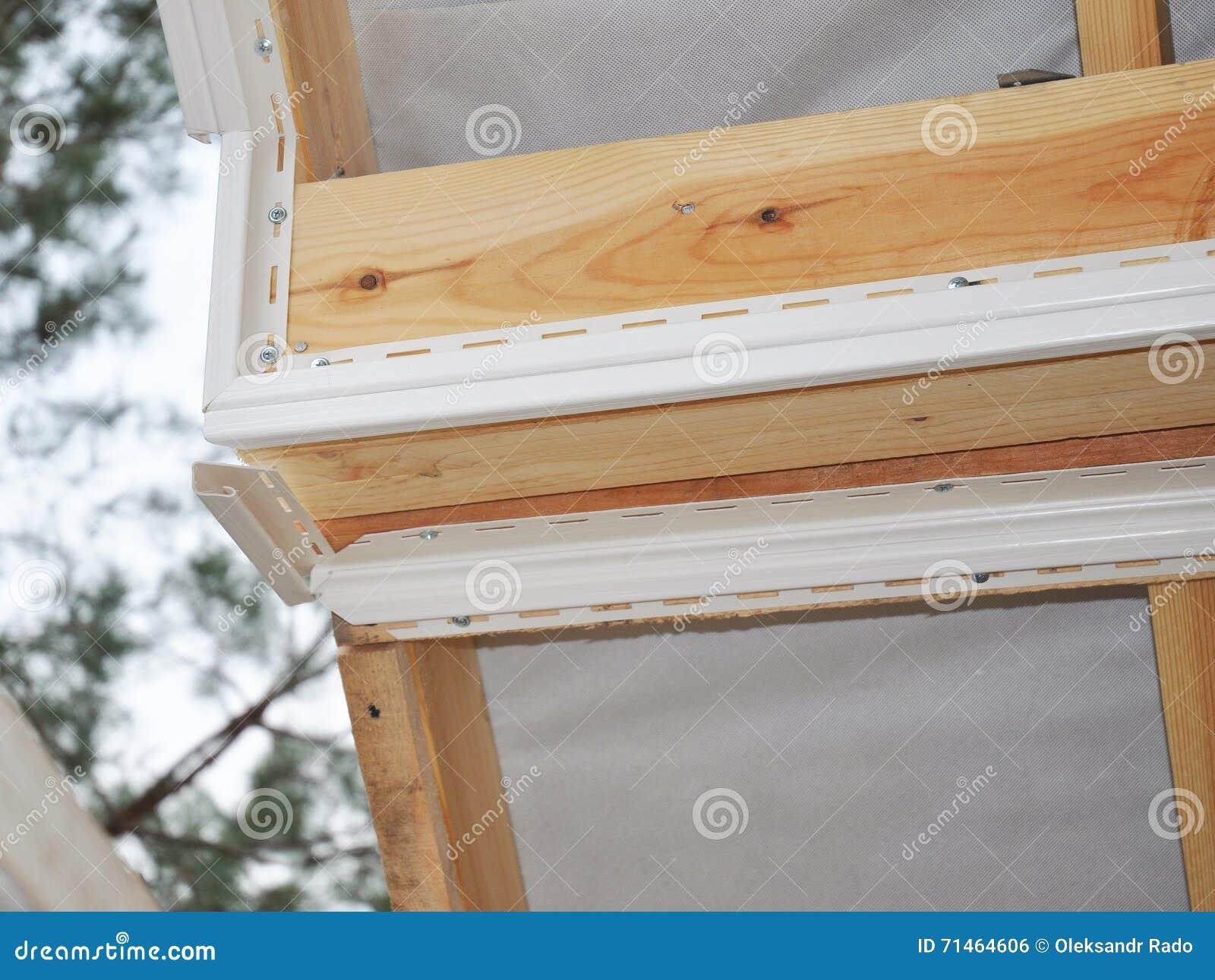 Εγκαταστήστε Soffit Κατασκευή υλικού κατασκευής σκεπής