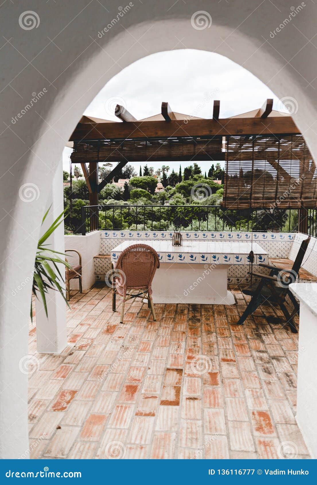 Εγχώριο εσωτερικό σχέδιο στην Πορτογαλία Portimao