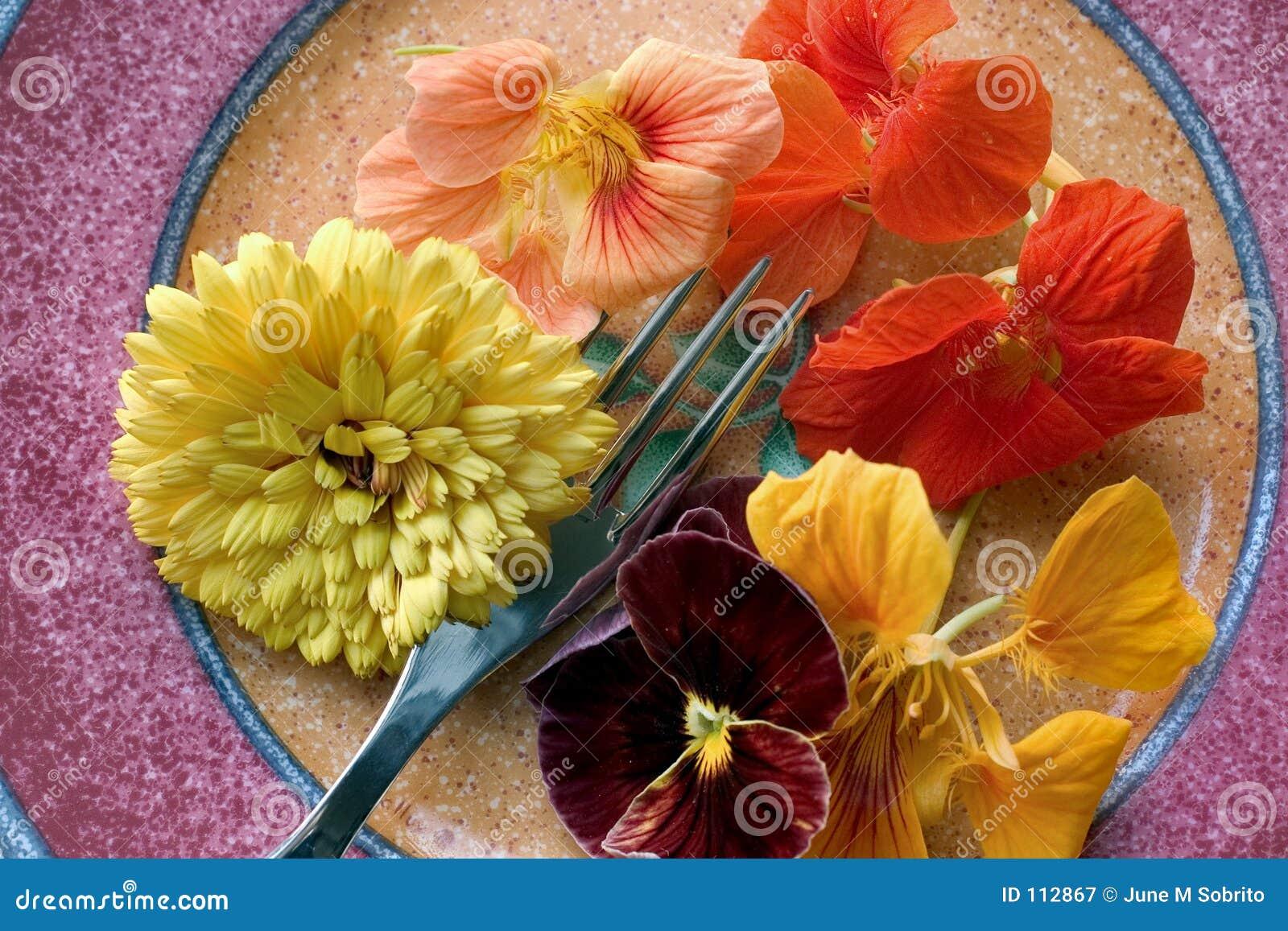 εδώδιμα λουλούδια