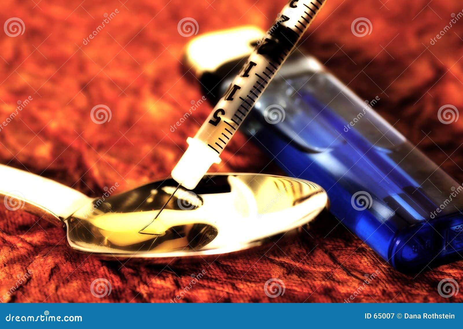 Download εθισμένος στοκ εικόνα. εικόνα από κοκαΐνη, ηρωΐδα, έγχυση - 65007