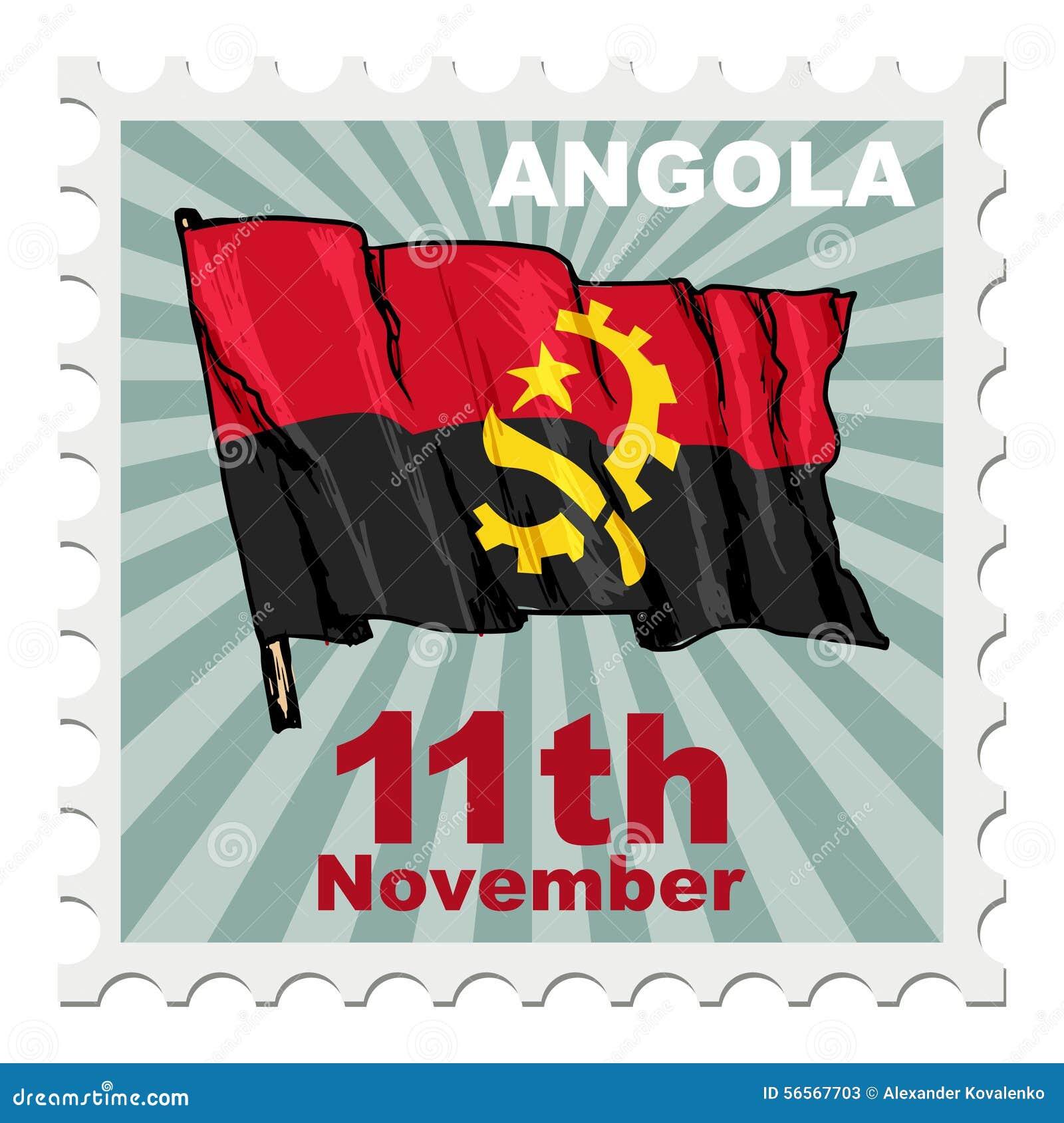 Download Εθνική μέρα της Ανγκόλα απεικόνιση αποθεμάτων. εικονογραφία από επιστολή - 56567703