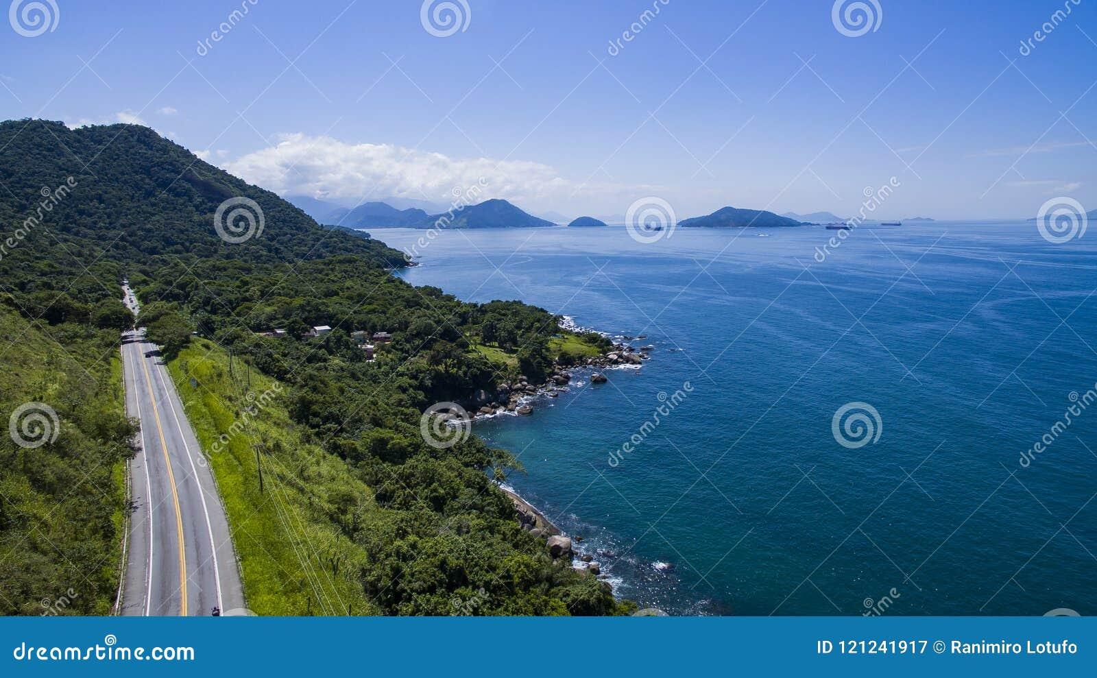 Εθνική οδός κατά μήκος της θάλασσας, DOS Reis Angra εθνικών οδών στο Ρίο ντε Τζανέιρο