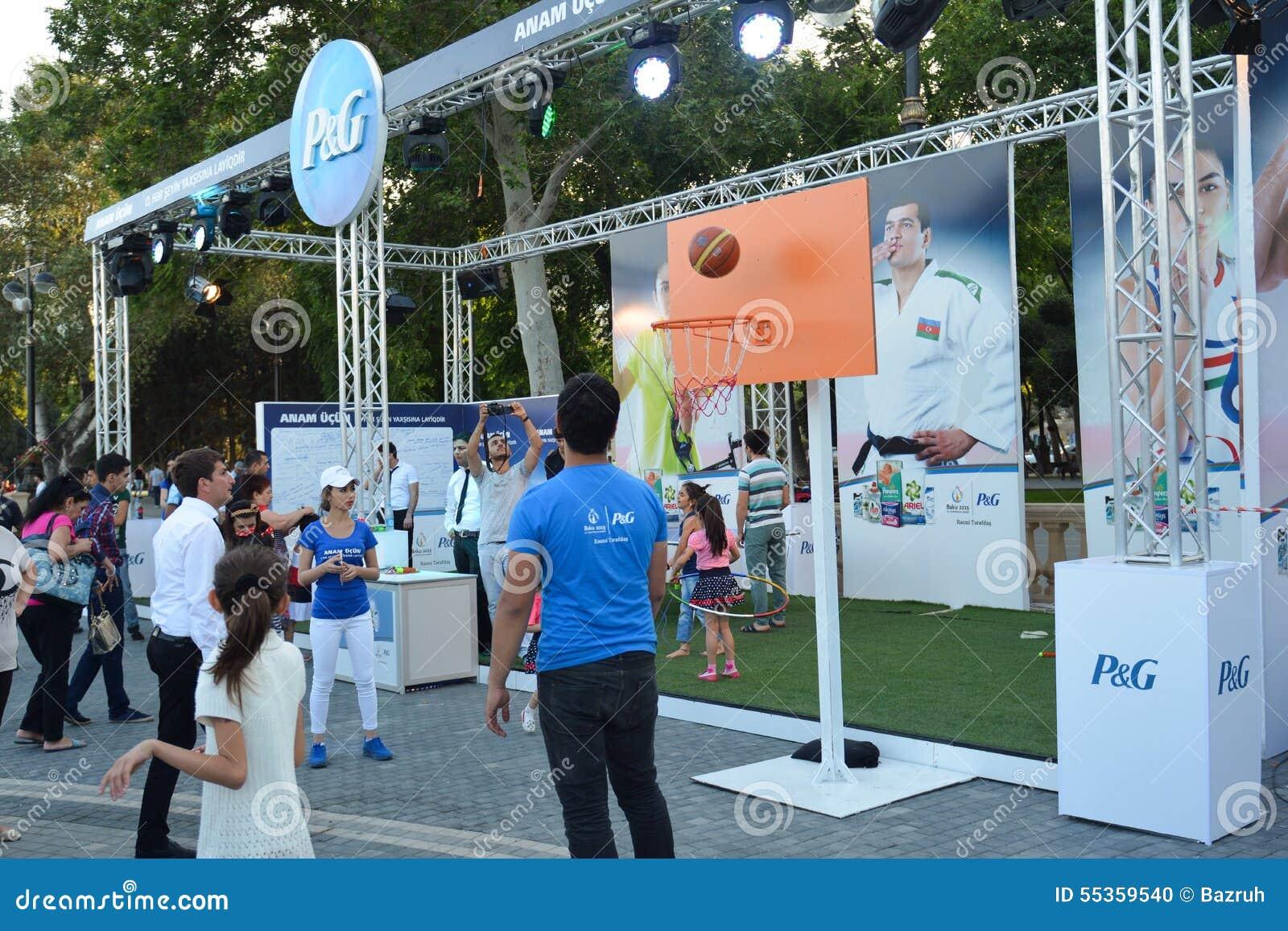 Εθνικοί ανταγωνισμοί στο πάρκο παραλιών στο Μπακού