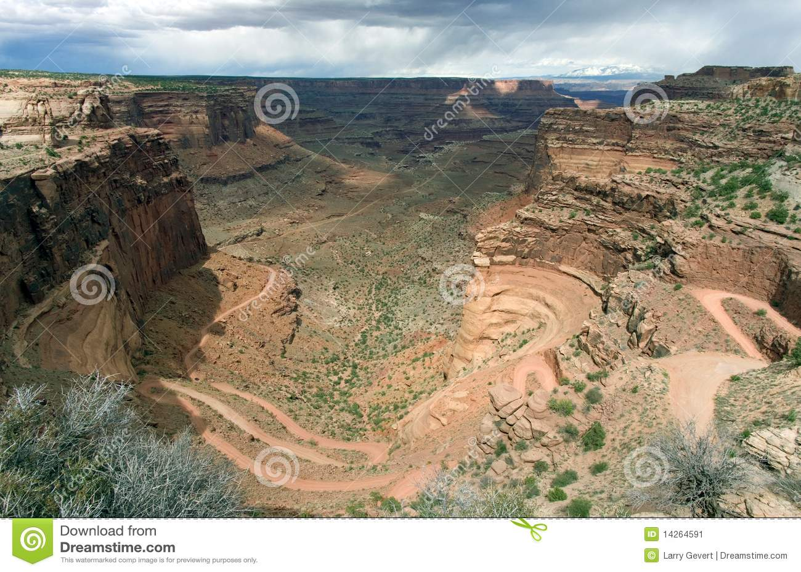 εθνικό πάρκο φαραγγιών canyonlands shafer