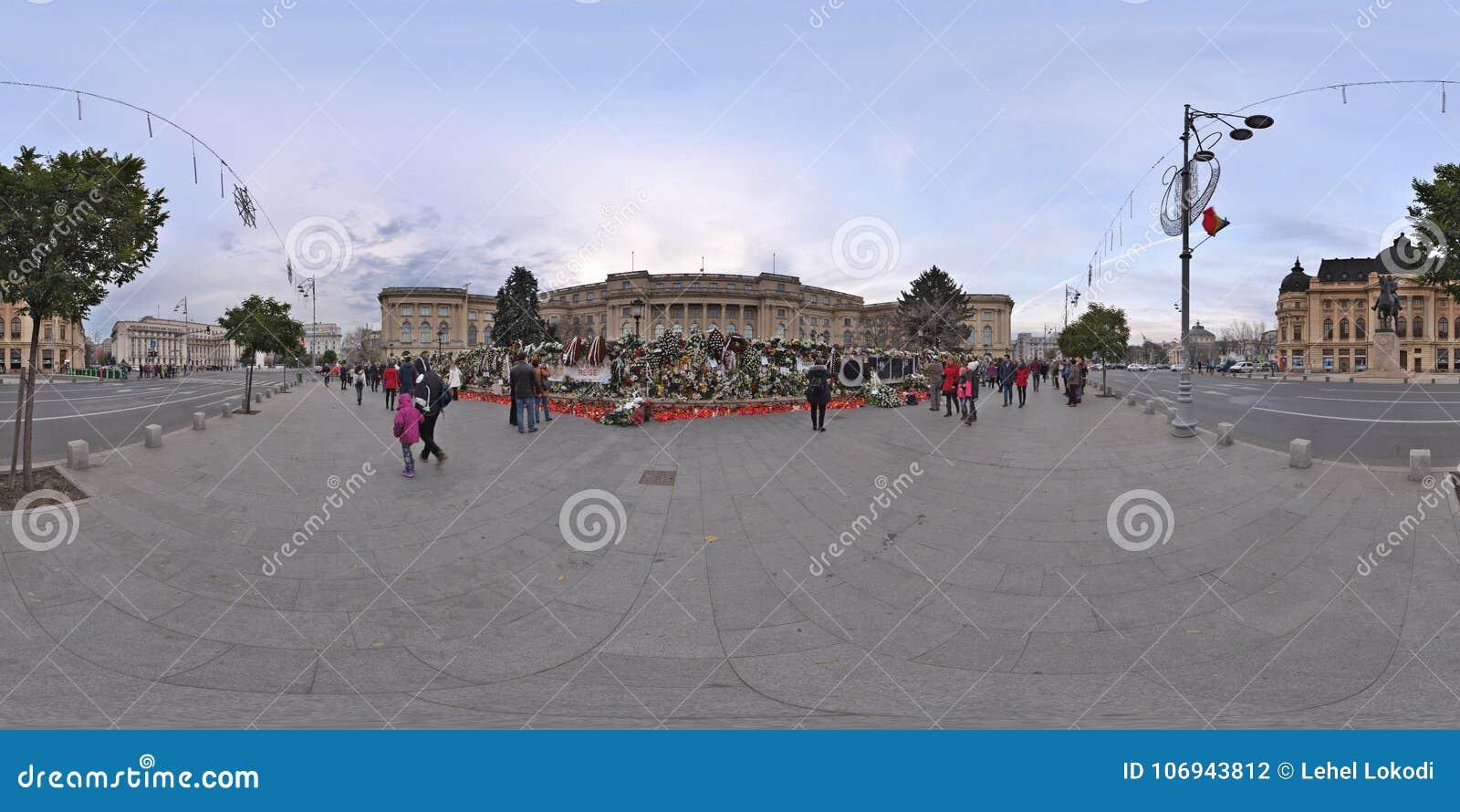 Εθνικό πένθος μετά από την αποβίωση του Michael Ι στη Royal Palace στο Βουκουρέστι, Ρουμανία