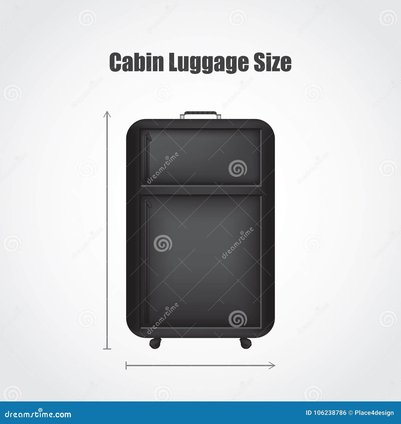 Ειδικές μαύρες αποσκευές ταξιδιού