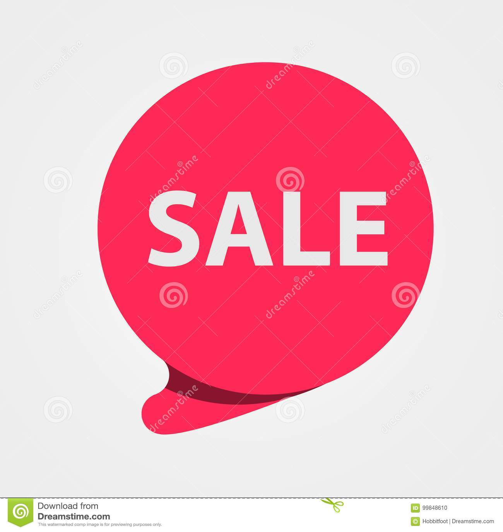 Ειδική κόκκινη ετικέττα πώλησης προσφοράς Έκπτωση, ετικέτα τιμών προσφοράς, σύμβολο για τη διαφημιστική καμπάνια