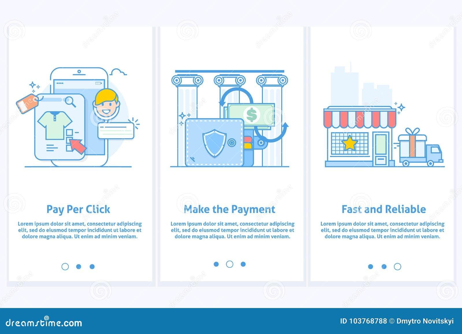 Εικονίδια Ιστού για το ηλεκτρονικό εμπόριο και τις τραπεζικές εργασίες Διαδικτύου Πρότυπο για κινητούς app και τον ιστοχώρο Σύγχρ