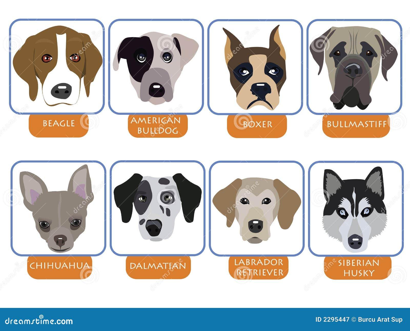 εικονίδια σκυλιών
