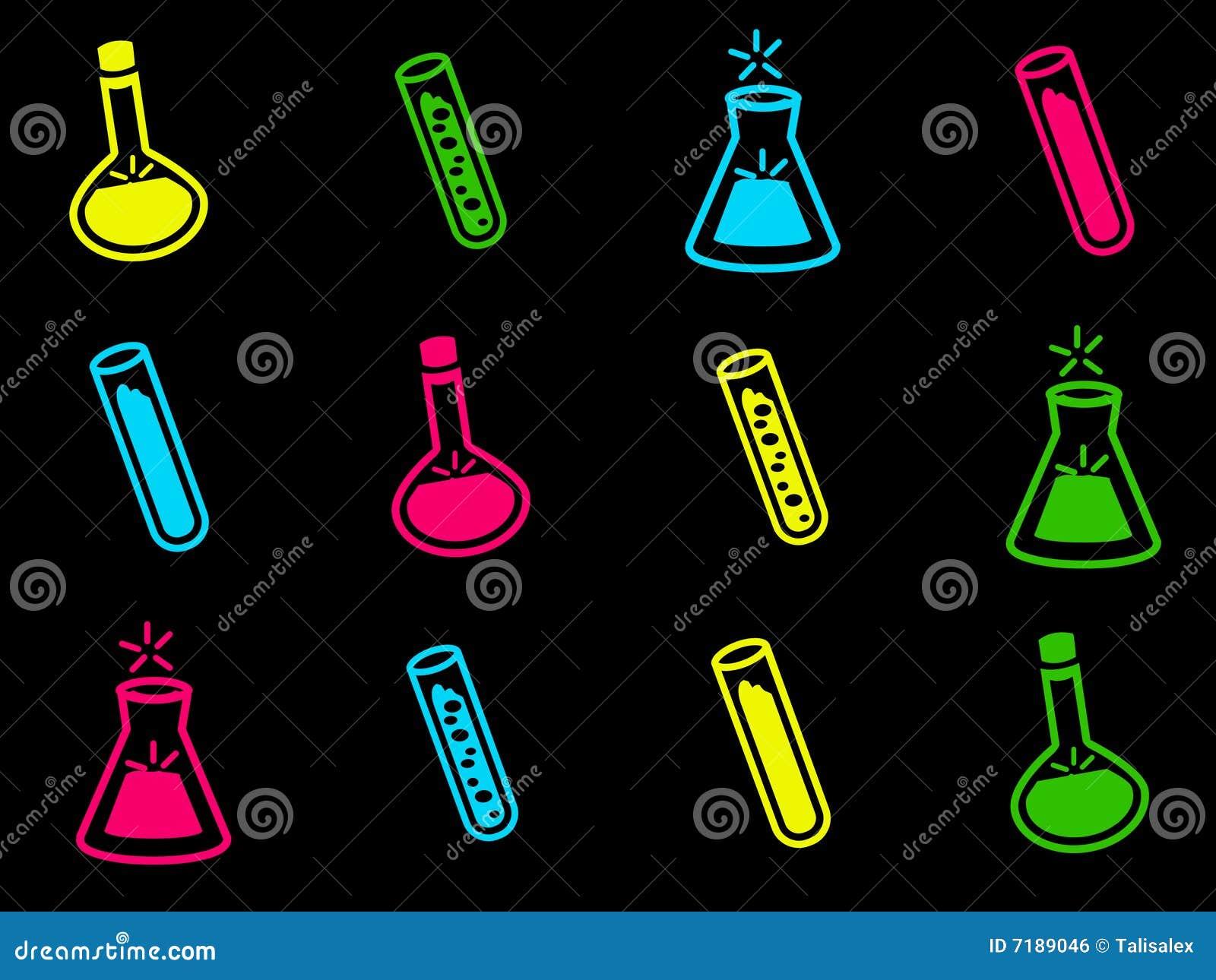 εικονίδια χημείας