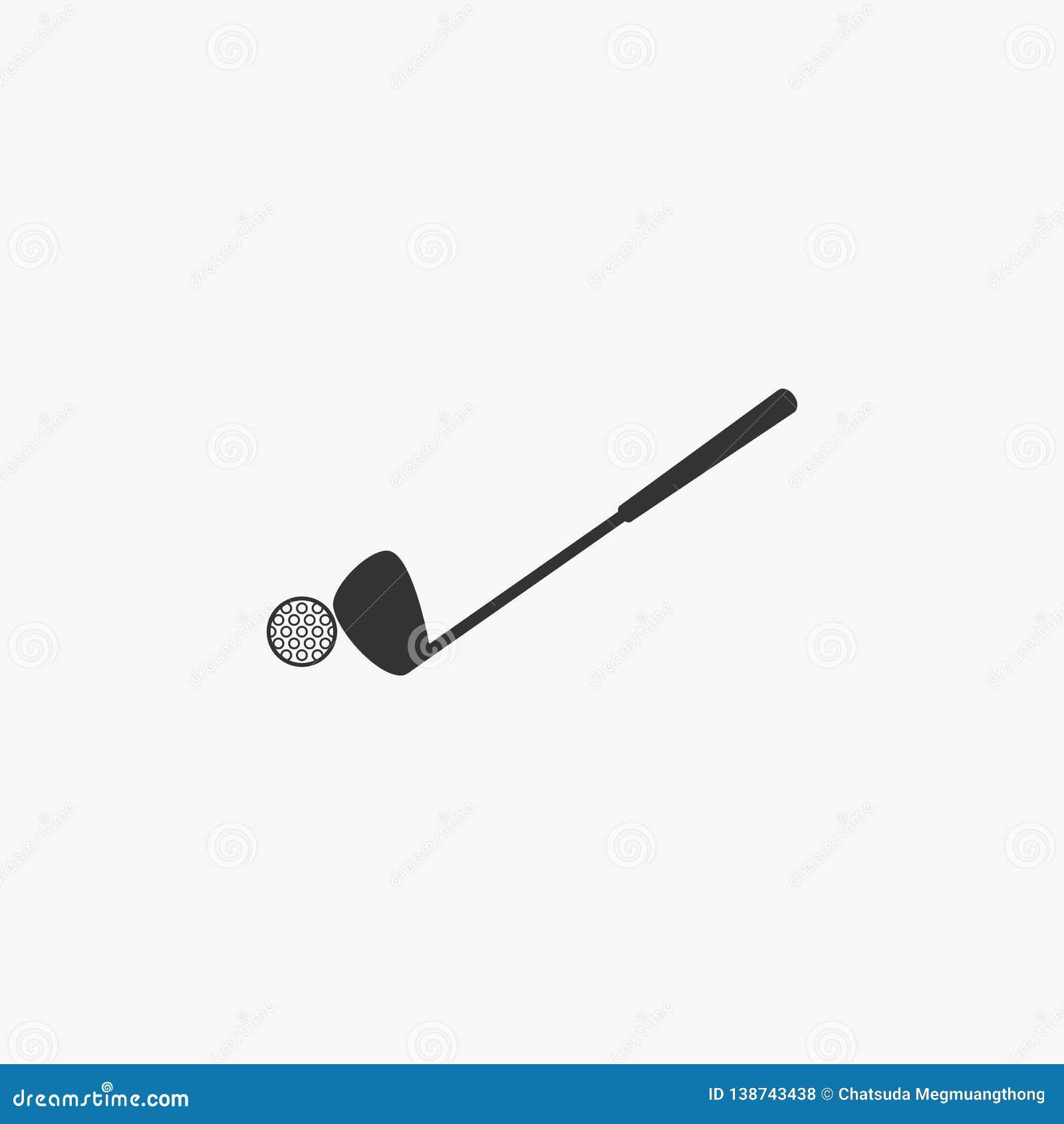Εικονίδιο γκολφ, αθλητισμός, γκολφ κλαμπ