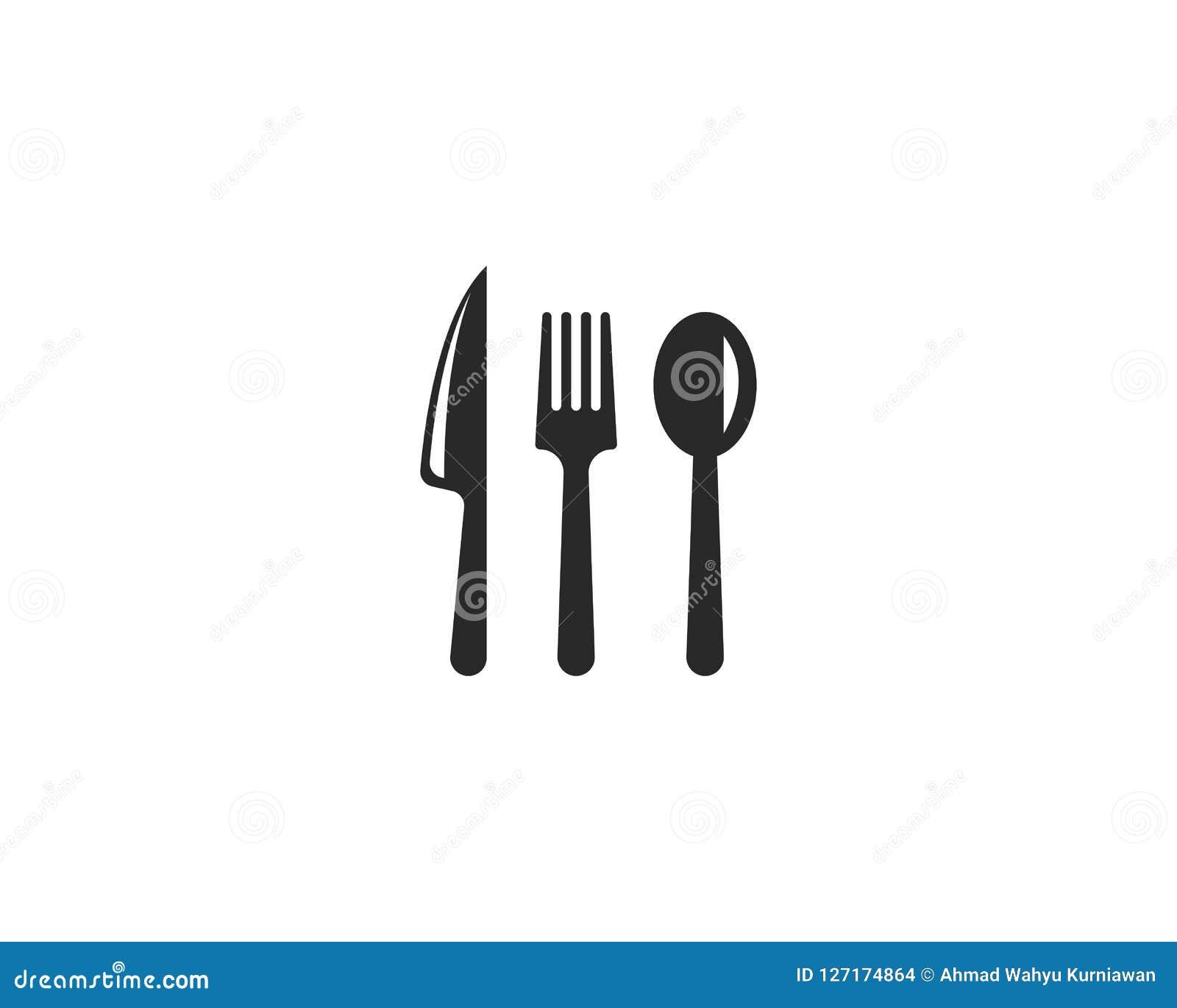 εικονίδιο δικράνων, μαχαιριών και κουταλιών