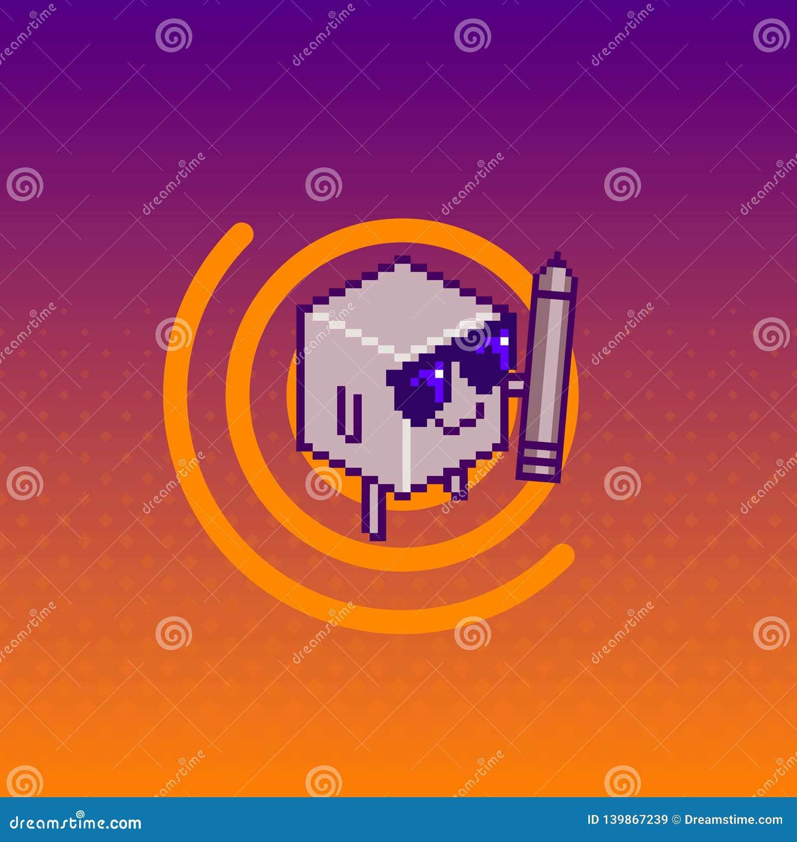Εικονίδιο/λογότυπο πολυγώνων Απεικόνιση τέχνης