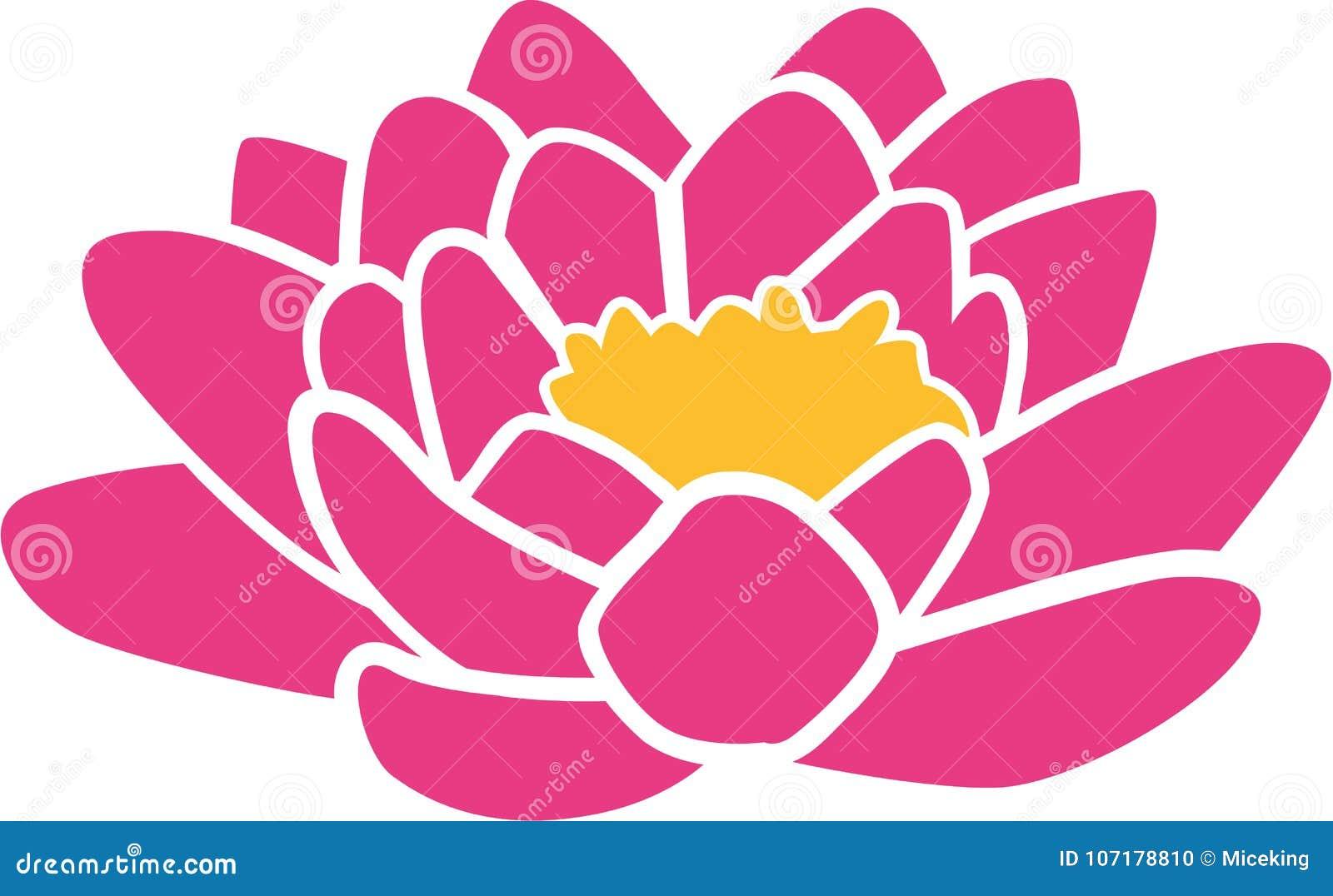 Εικονίδιο λουλουδιών Lotus