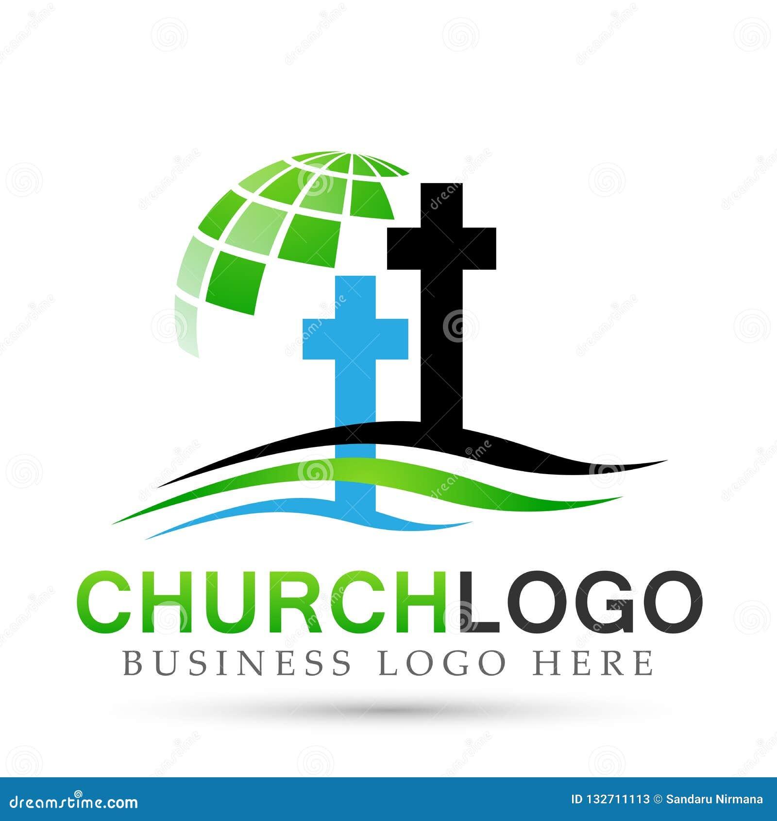 Εικονίδιο σχεδίου λογότυπων αγάπης προσοχής ένωσης παραλιών εκκλησιών σφαιρών στο άσπρο υπόβαθρο Κλασσικός, αρχαίος Στην άσπρη αν