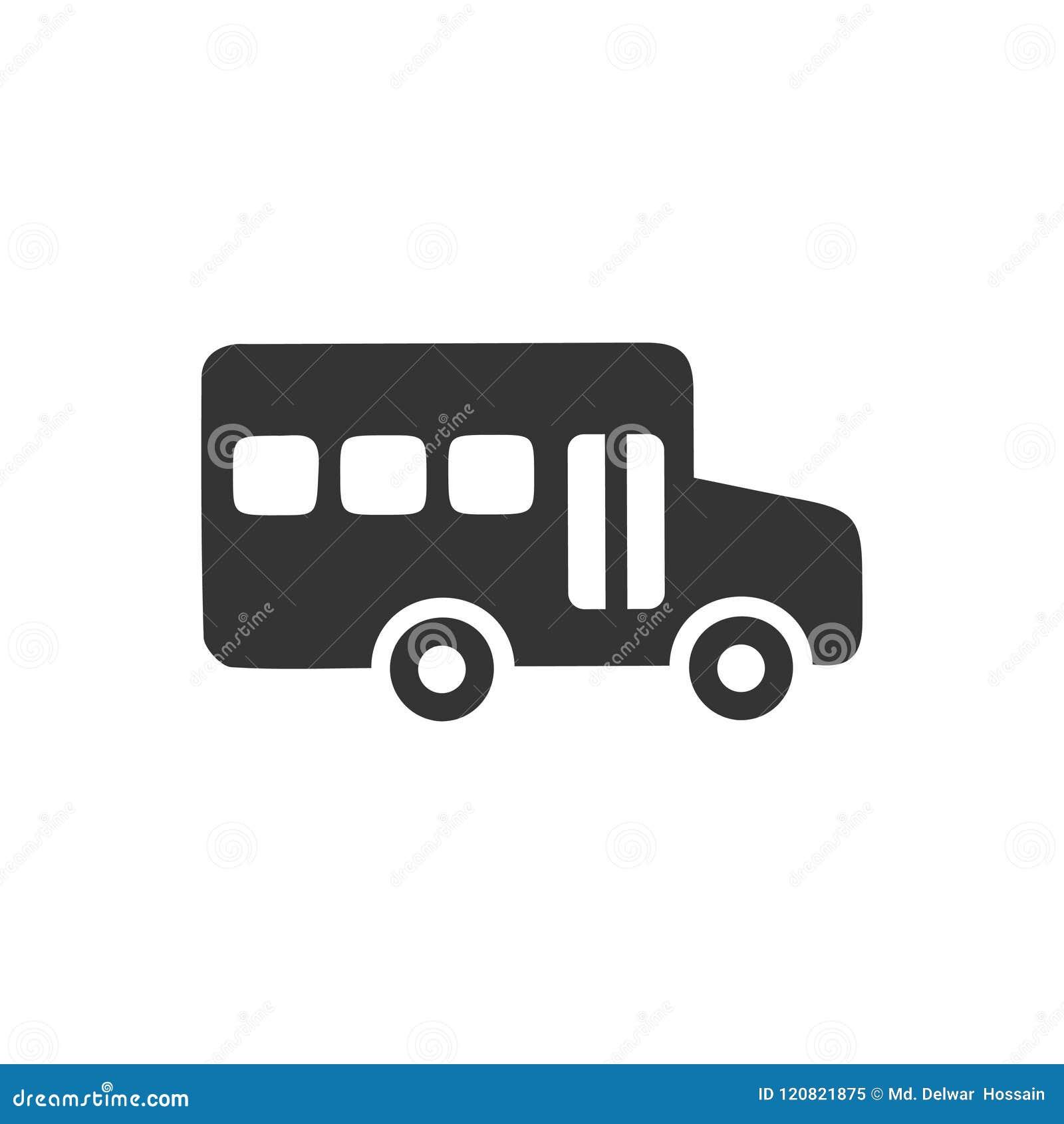 Εικονίδιο σχολικών λεωφορείων