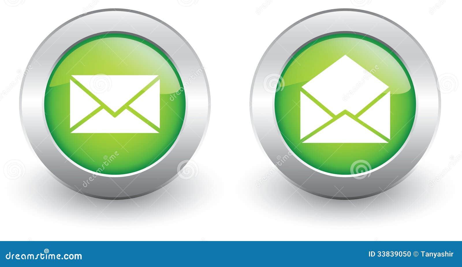 Εικονίδια ηλεκτρονικού ταχυδρομείου