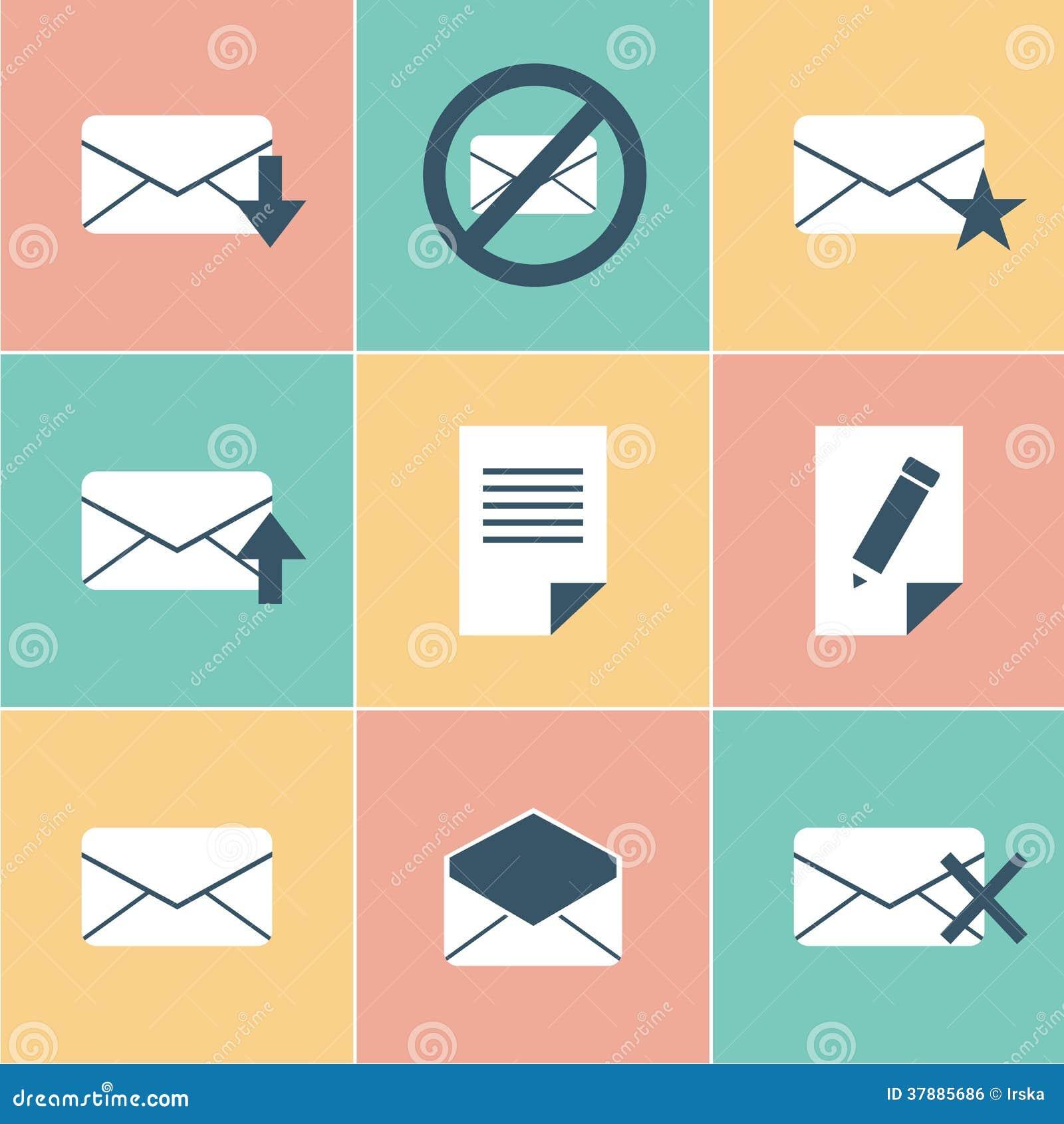 Εικονίδια ταχυδρομείου