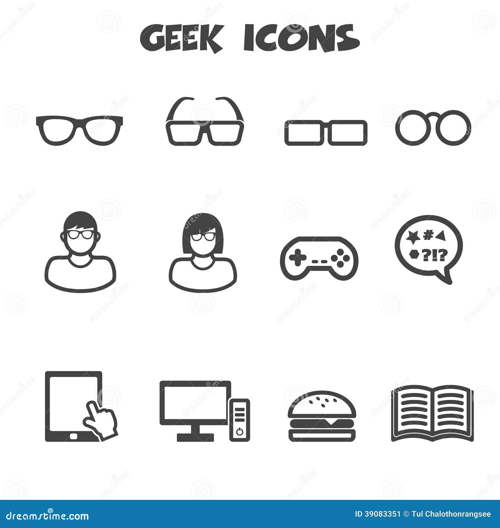 Εικονίδια Geek