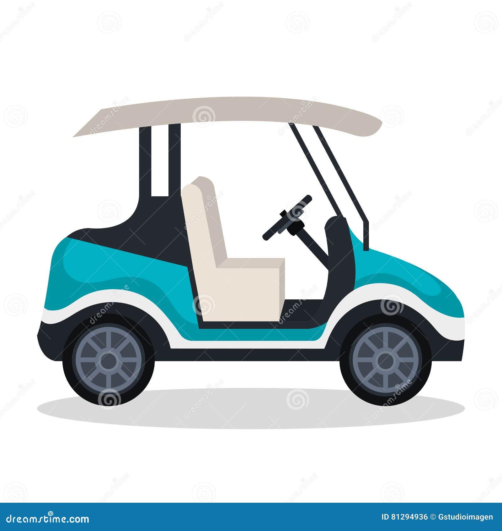 Εικονίδιο κάρρων γκολφ
