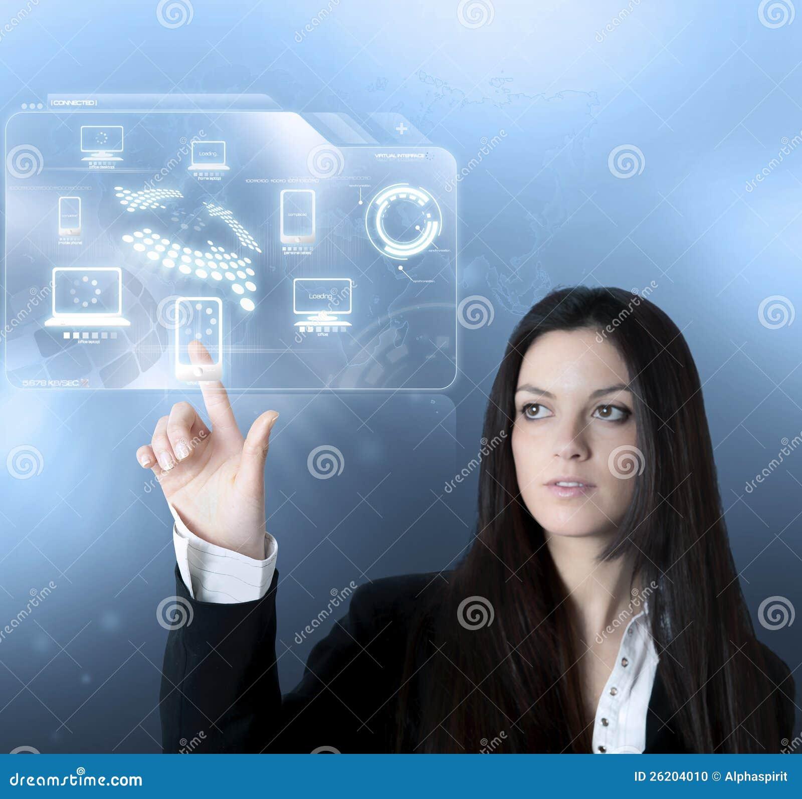 Εικονική διαπροσωπεία τεχνολογίας