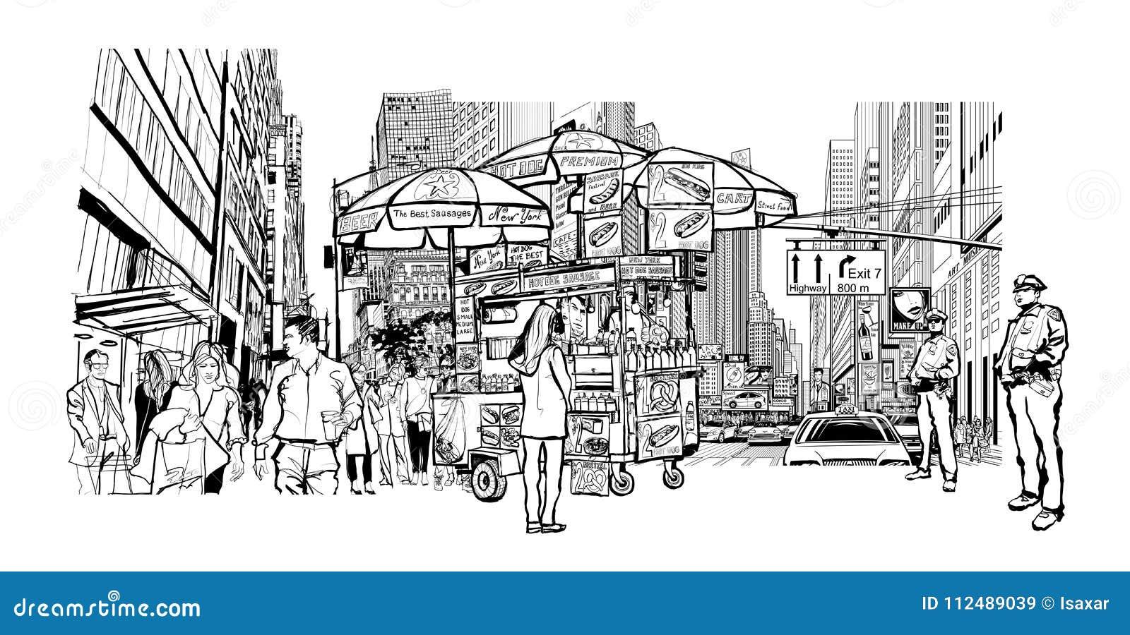 εικονική παράσταση πόλης Νέα Υόρκη