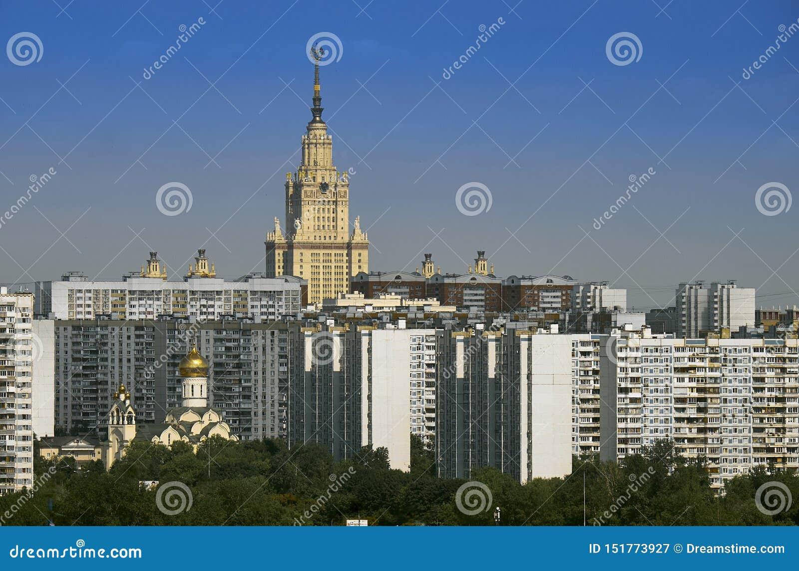Εικονική παράσταση πόλης στην περιοχή Ramenki της Μόσχας