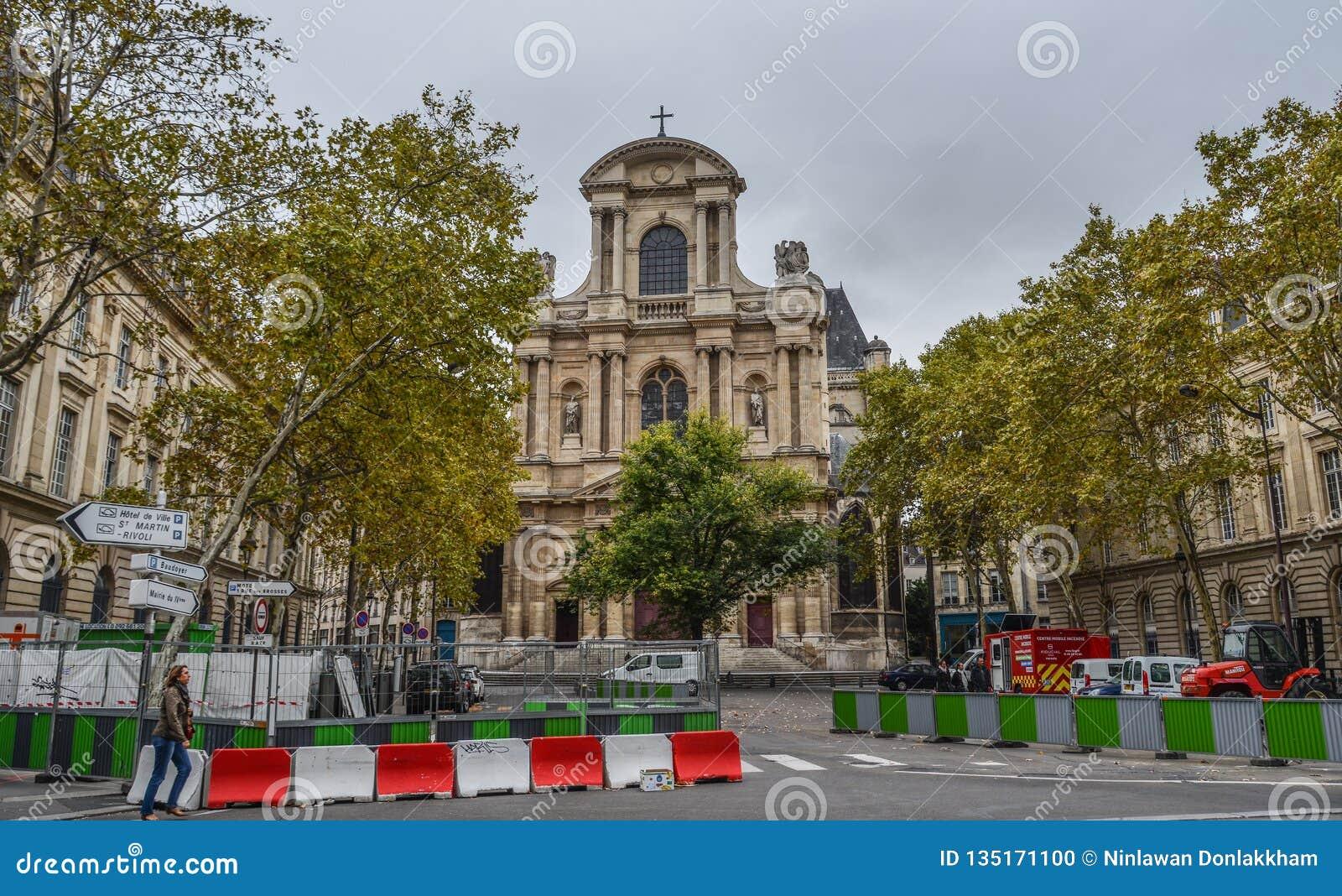 Εικονική παράσταση πόλης του Παρισιού, Γαλλία