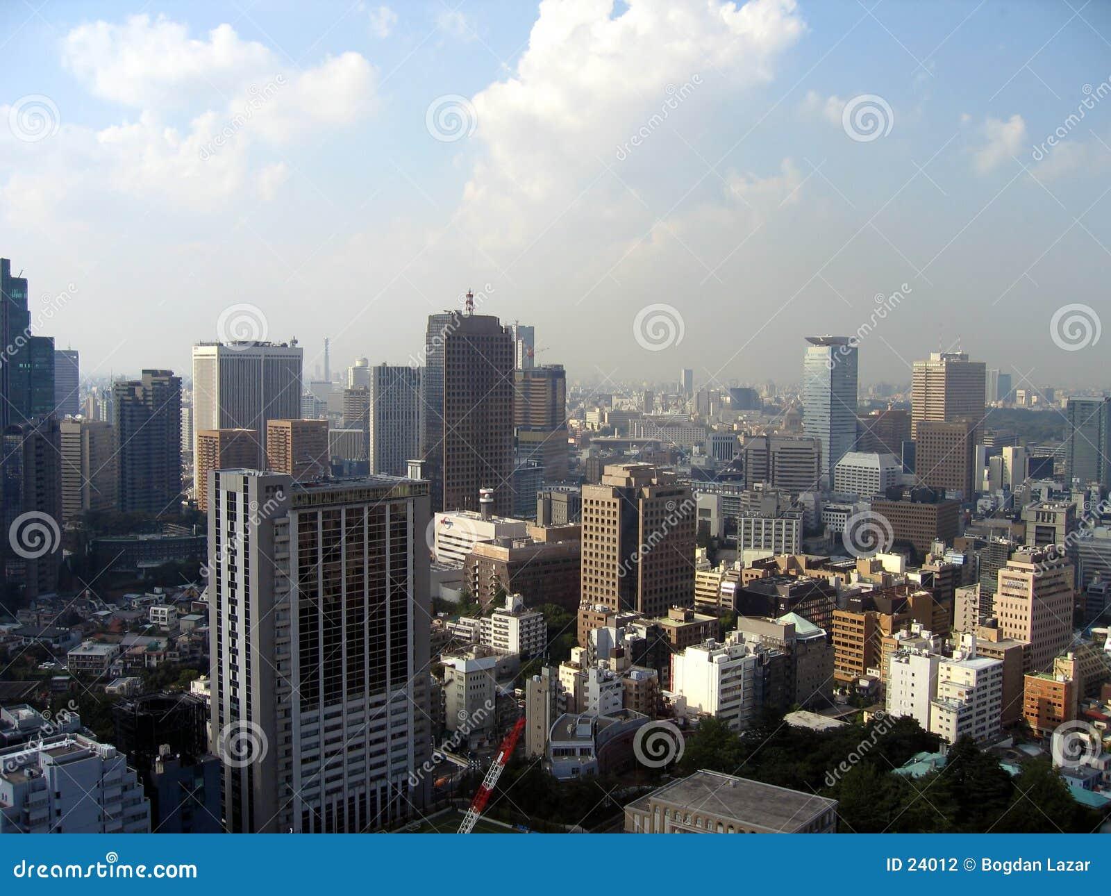 εικονική παράσταση πόλης Τόκιο
