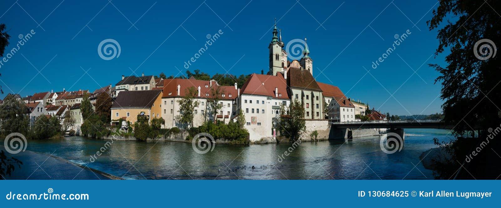 Εικονική παράσταση πόλης Steyr
